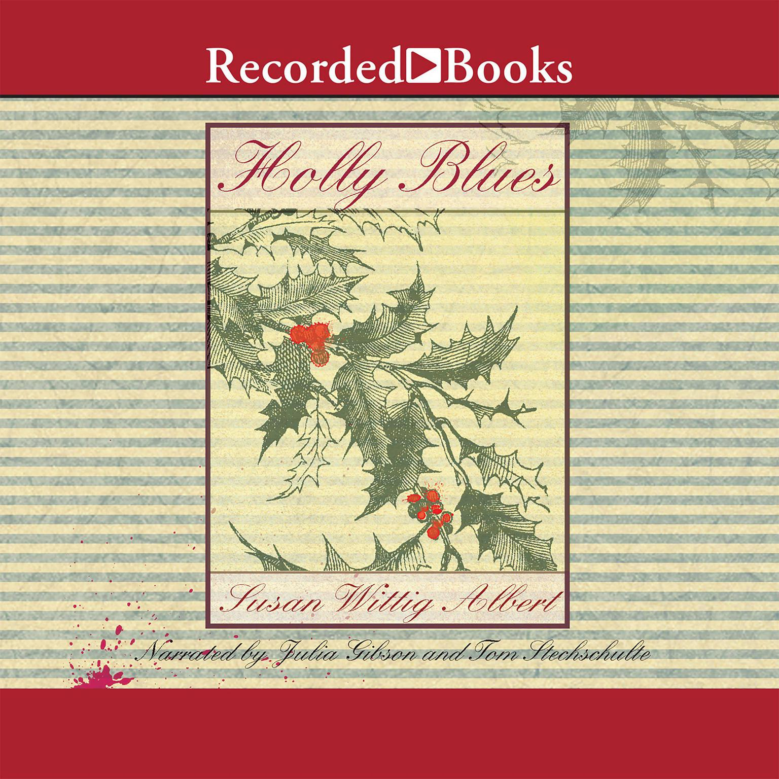 Printable Holly Blues Audiobook Cover Art