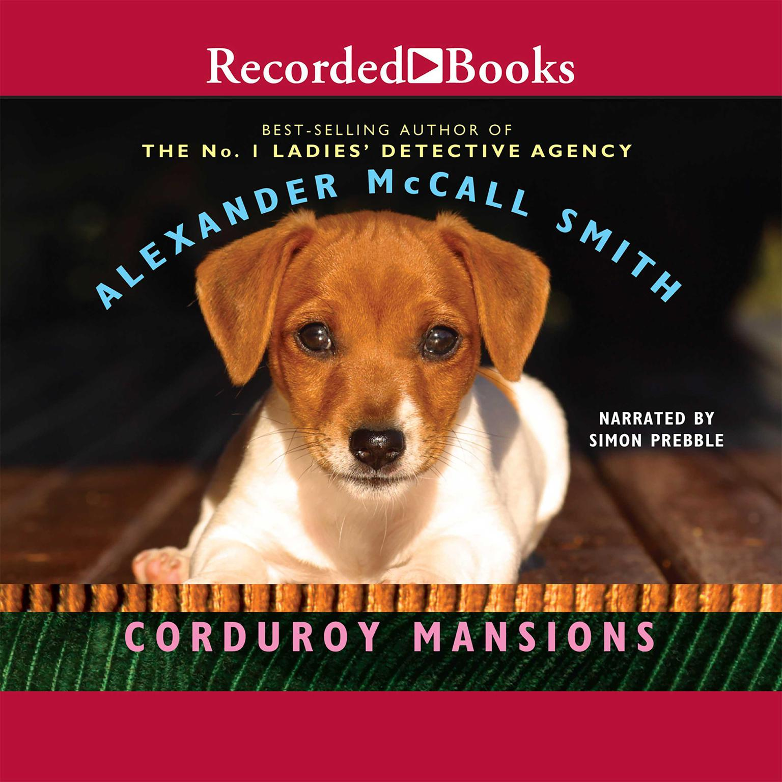 Printable Corduroy Mansions Audiobook Cover Art