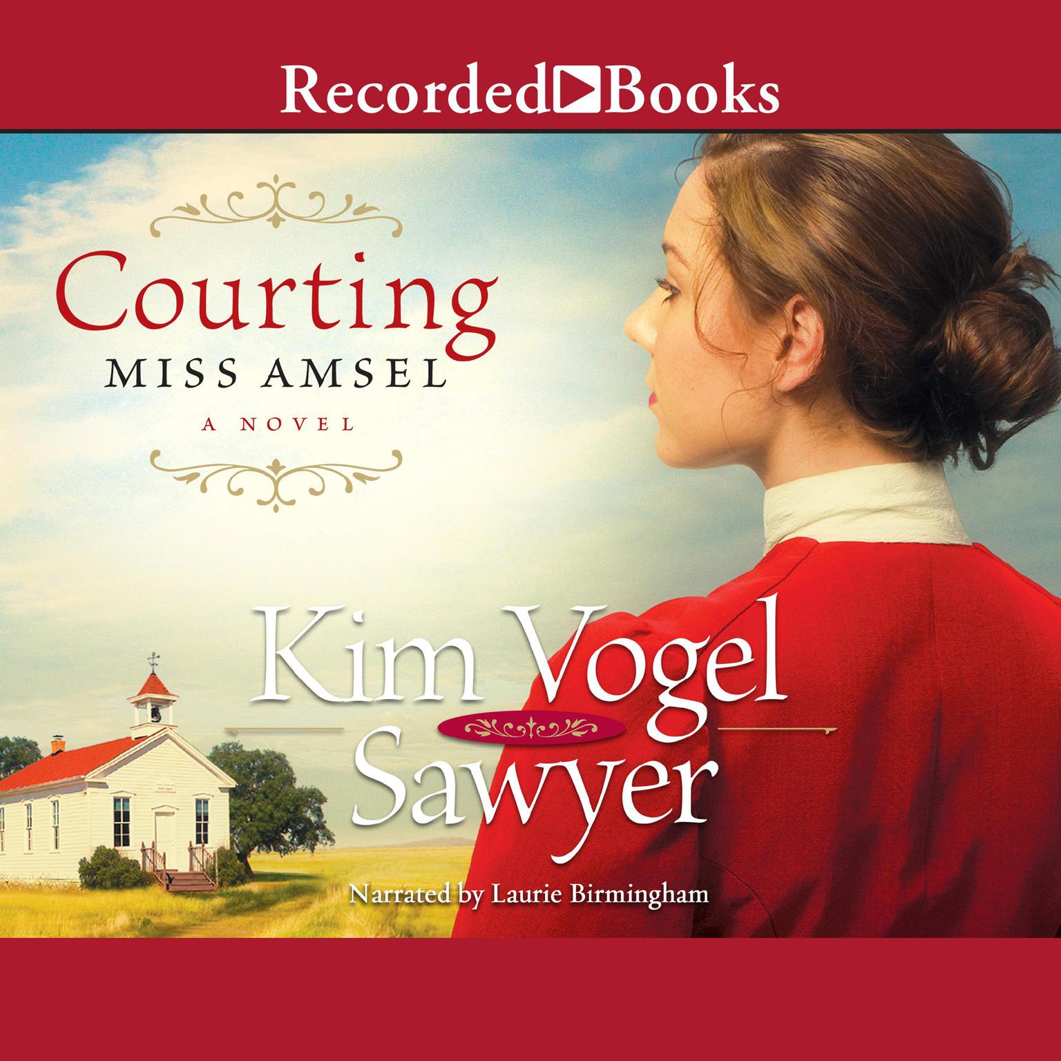 Printable Courting Miss Amsel Audiobook Cover Art
