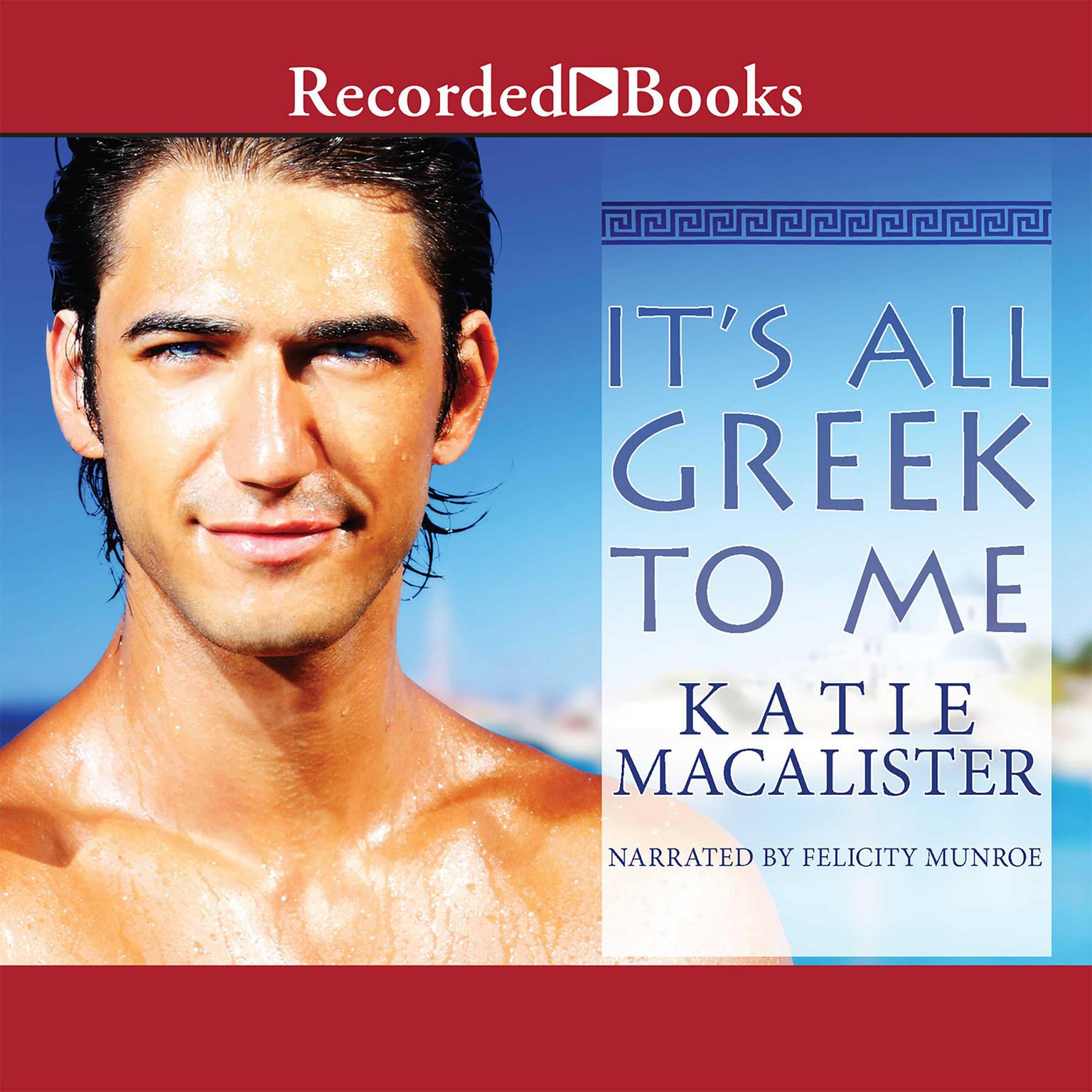 Printable It's All Greek to Me Audiobook Cover Art