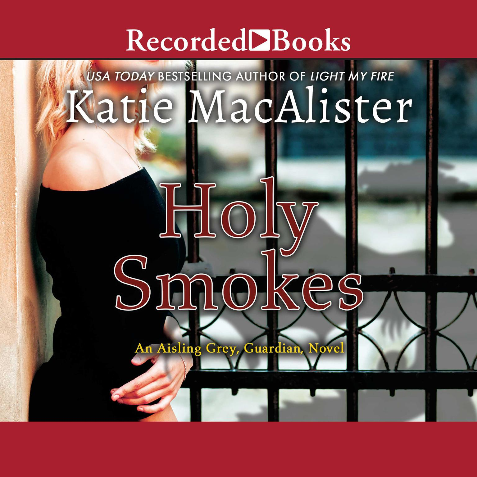 Printable Holy Smokes Audiobook Cover Art