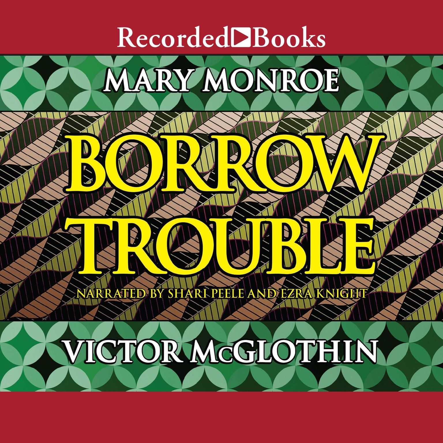 Printable Borrow Trouble Audiobook Cover Art