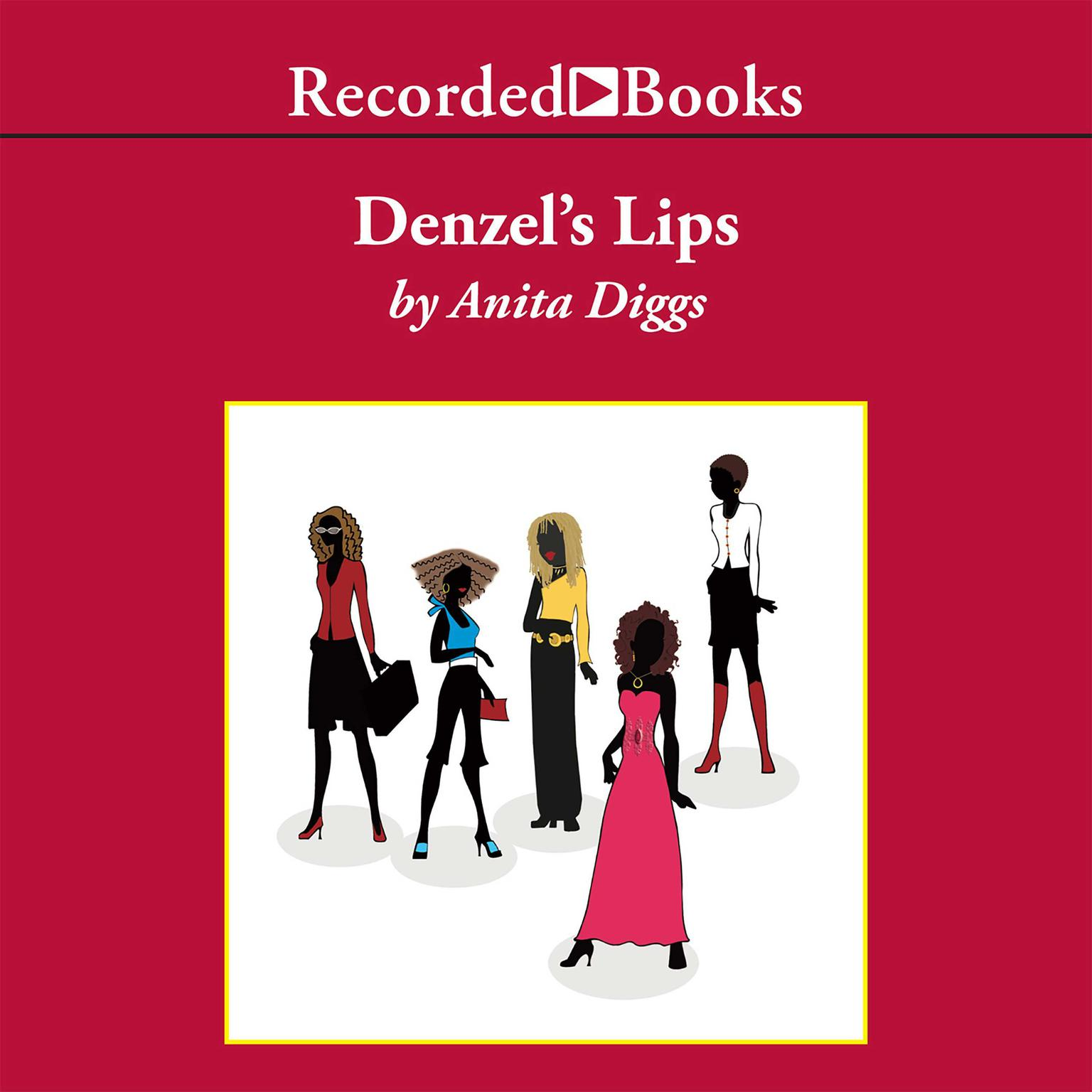 Printable Denzel's Lips Audiobook Cover Art
