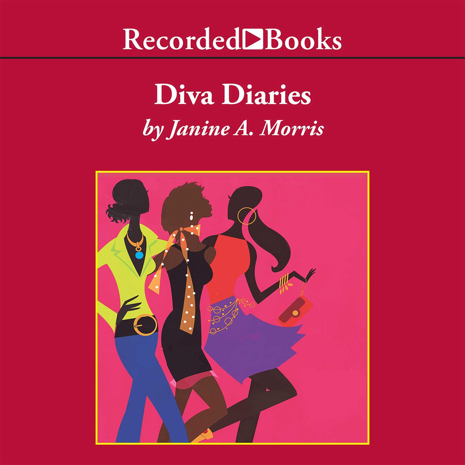 Printable Diva Diaries Audiobook Cover Art