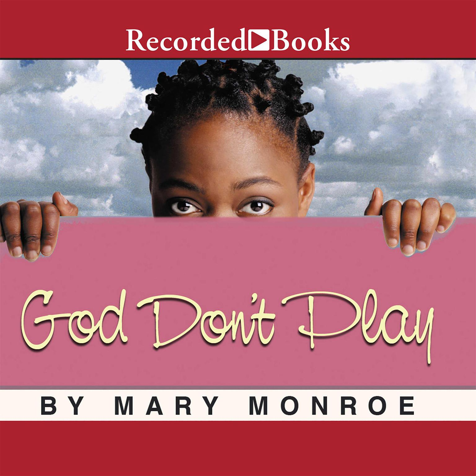 Printable God Don't Play Audiobook Cover Art