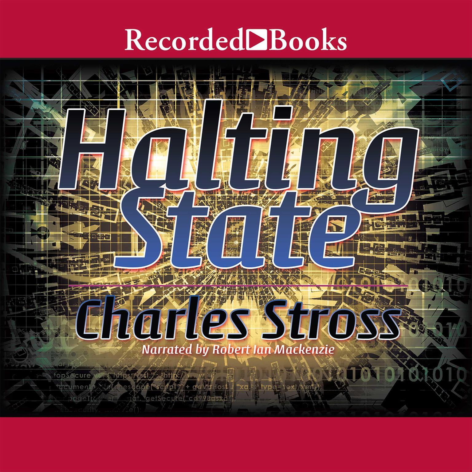 Printable Halting State Audiobook Cover Art
