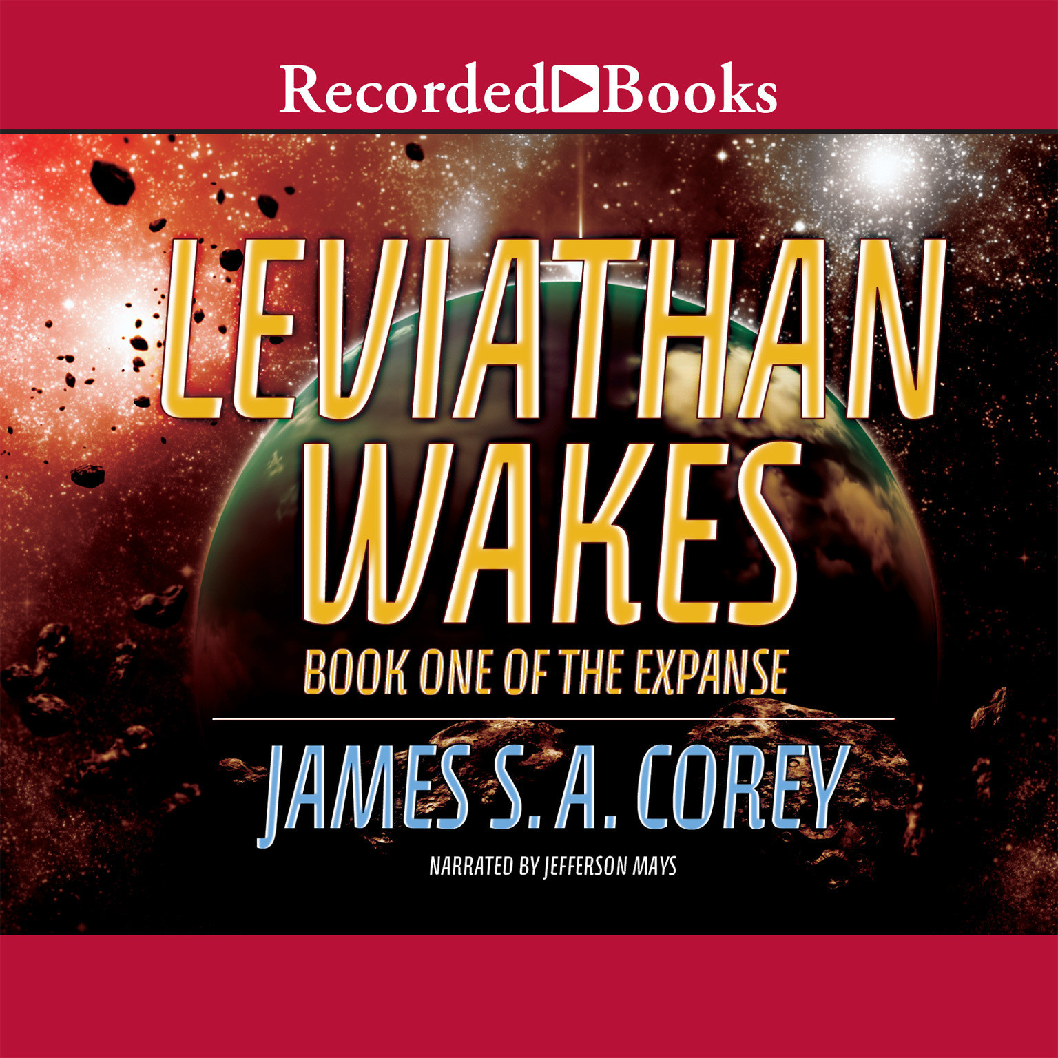 Printable Leviathan Wakes Audiobook Cover Art