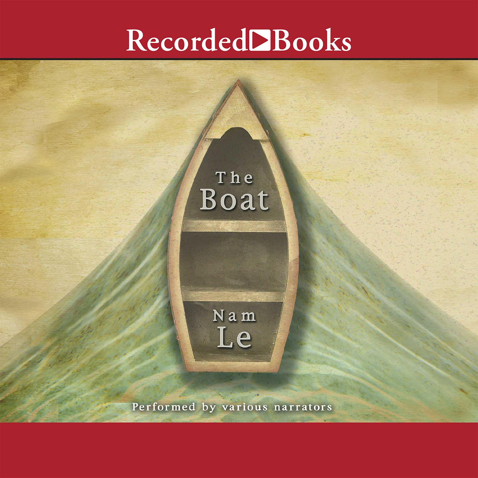 Printable The Boat Audiobook Cover Art