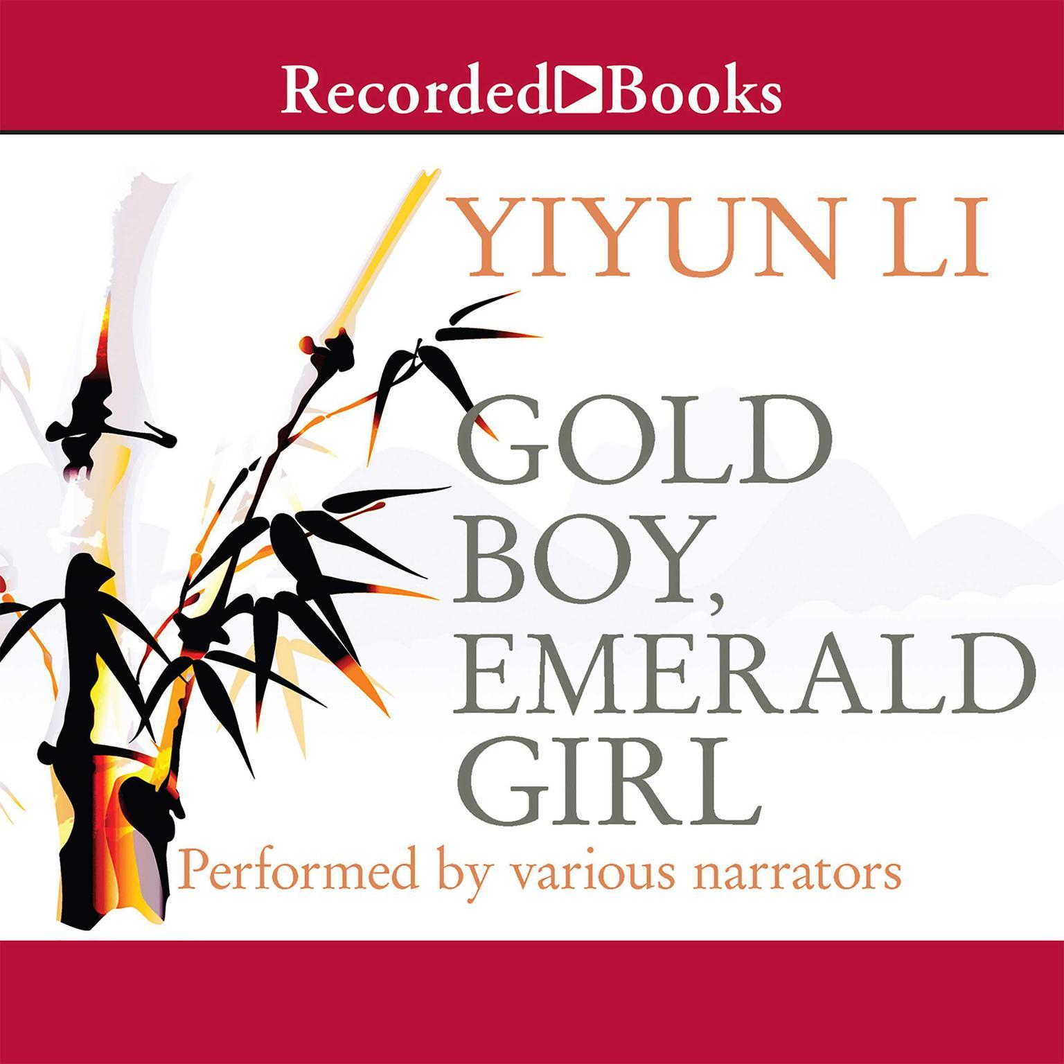 Printable Gold Boy, Emerald Girl Audiobook Cover Art