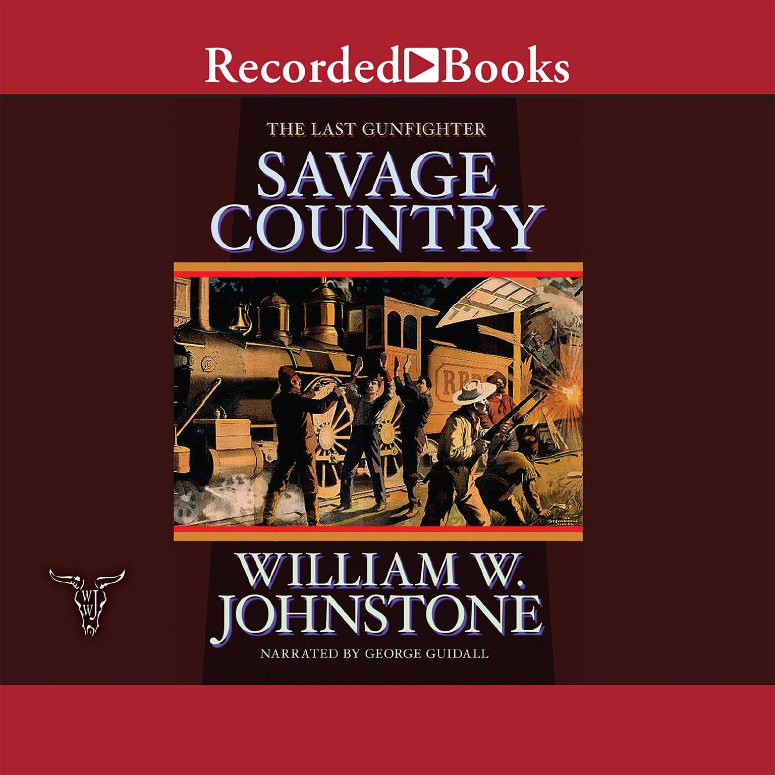 Printable Savage Country Audiobook Cover Art