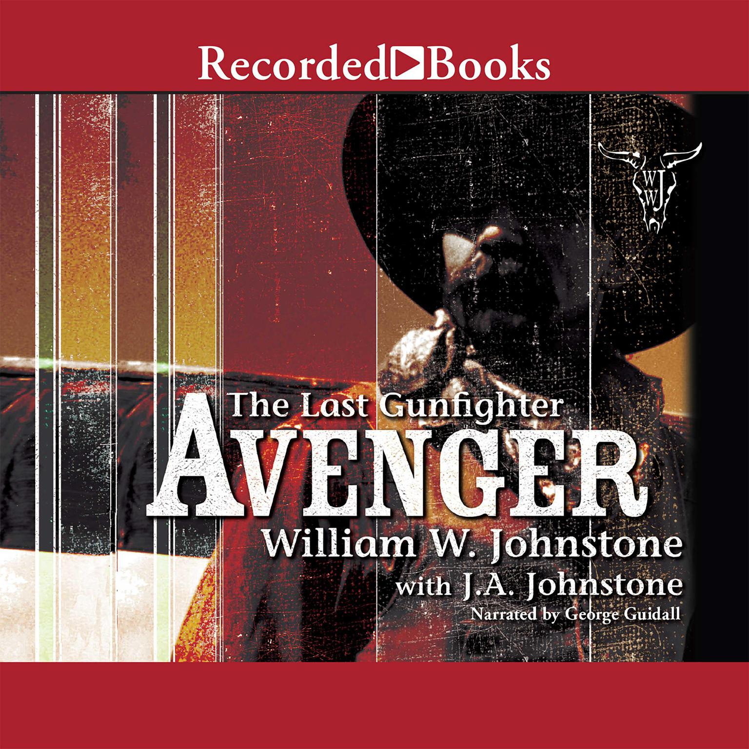 Printable Avenger Audiobook Cover Art