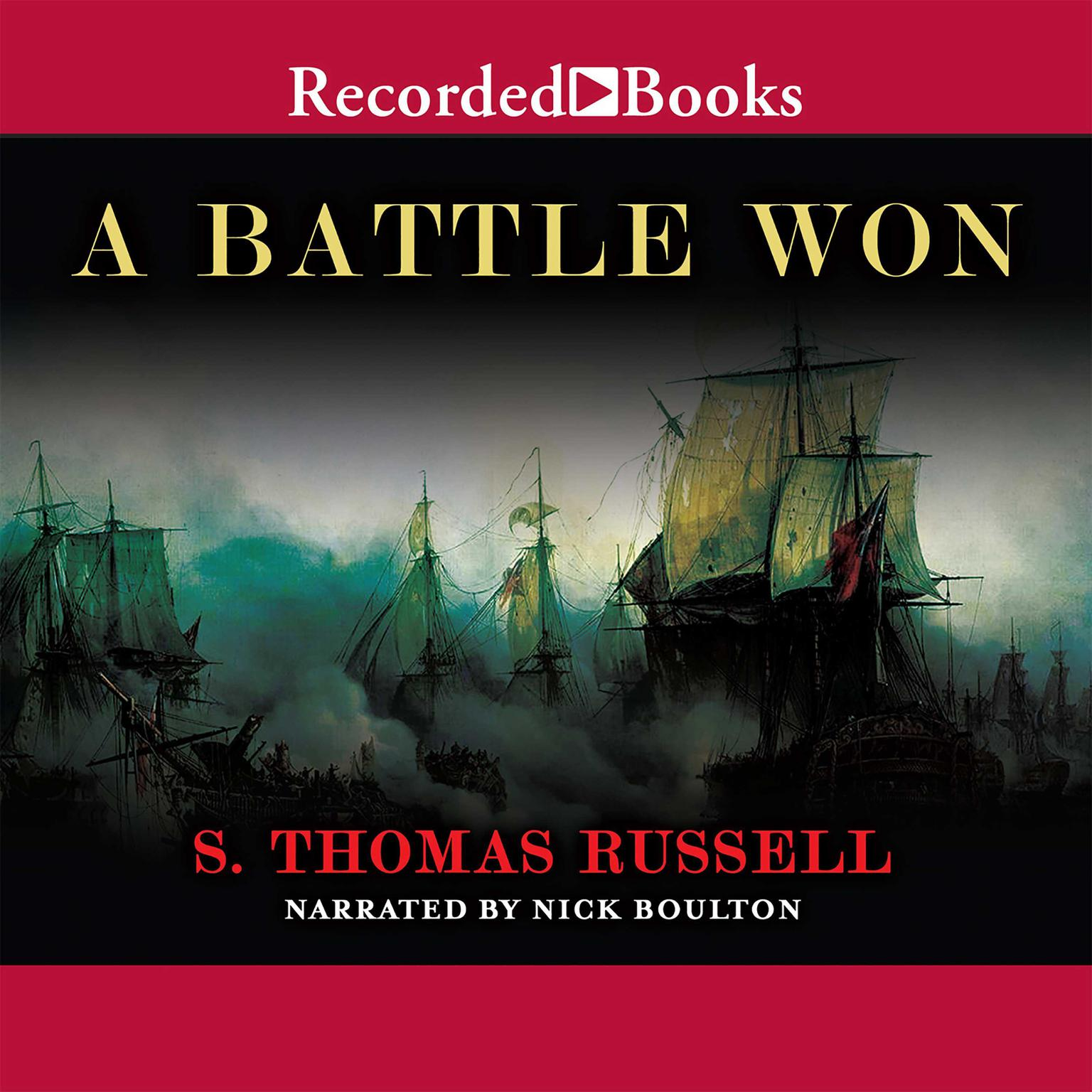 Printable A Battle Won Audiobook Cover Art