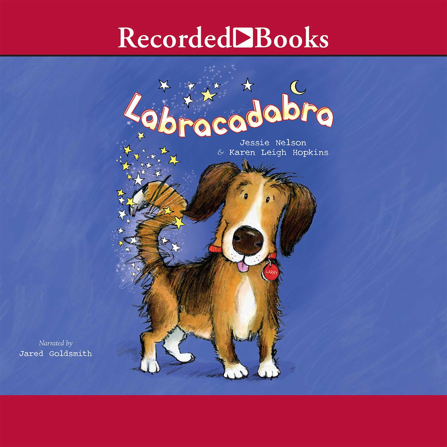 Printable Labracadabra Audiobook Cover Art