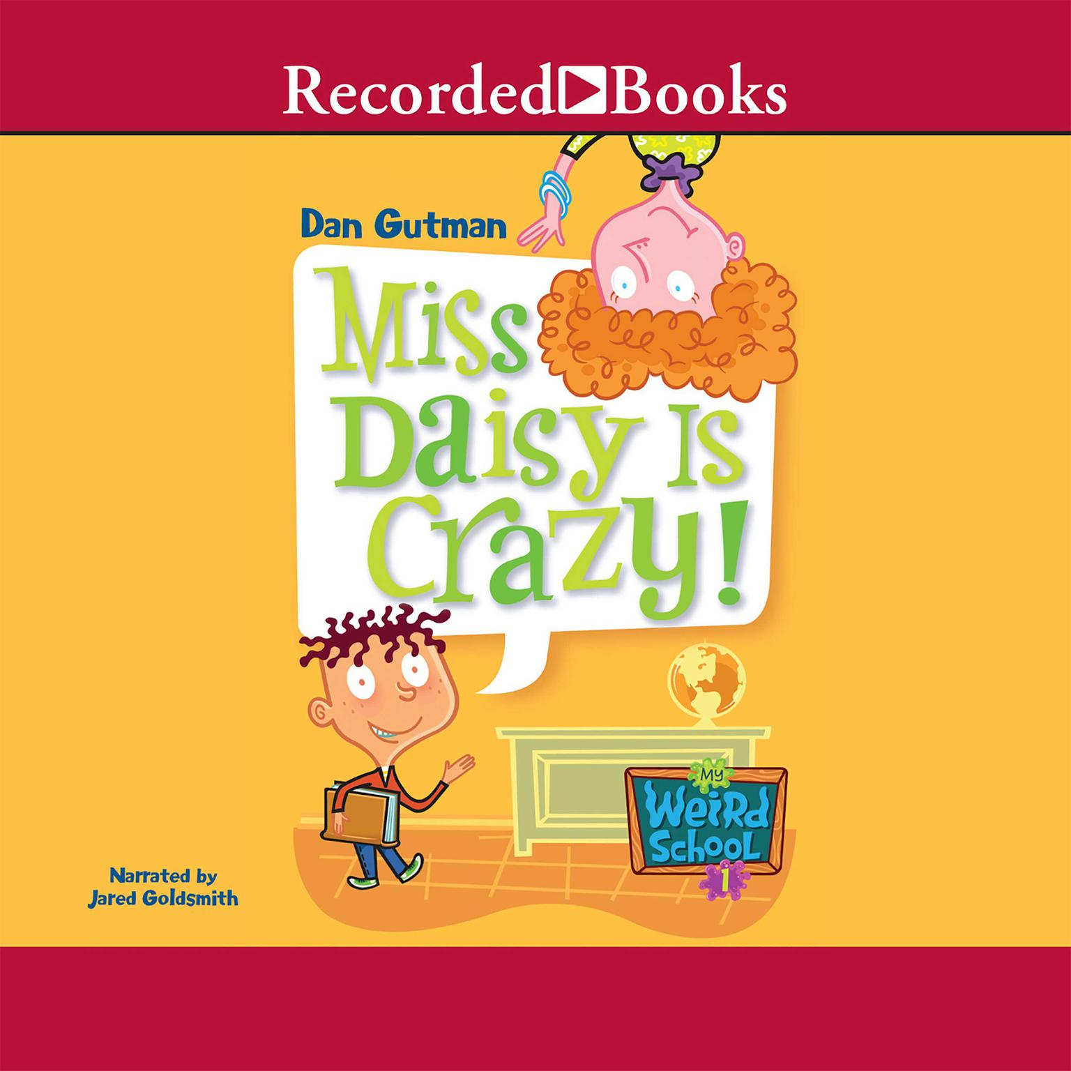 Printable Miss Daisy Is Crazy Audiobook Cover Art