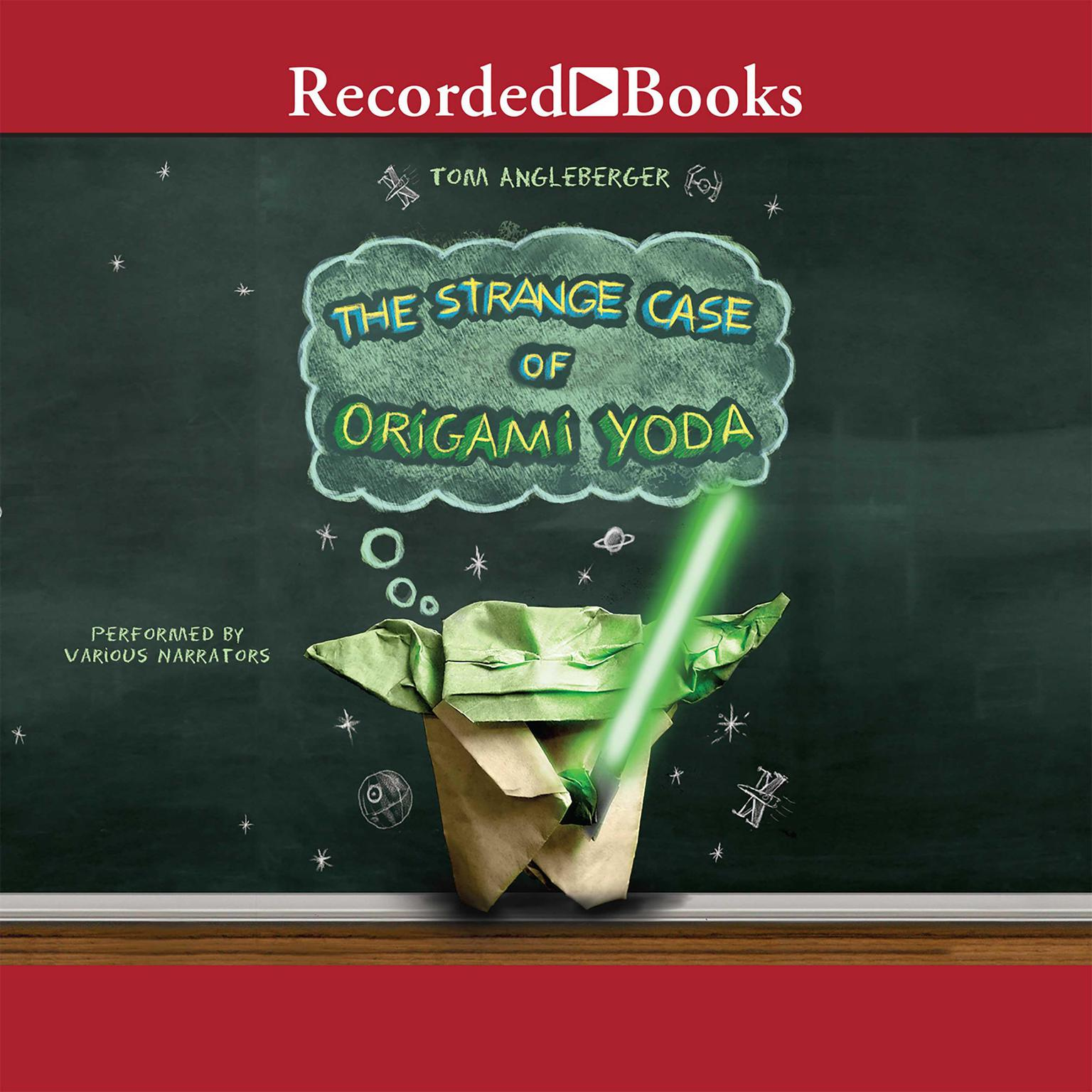 Printable The Strange Case of Origami Yoda Audiobook Cover Art