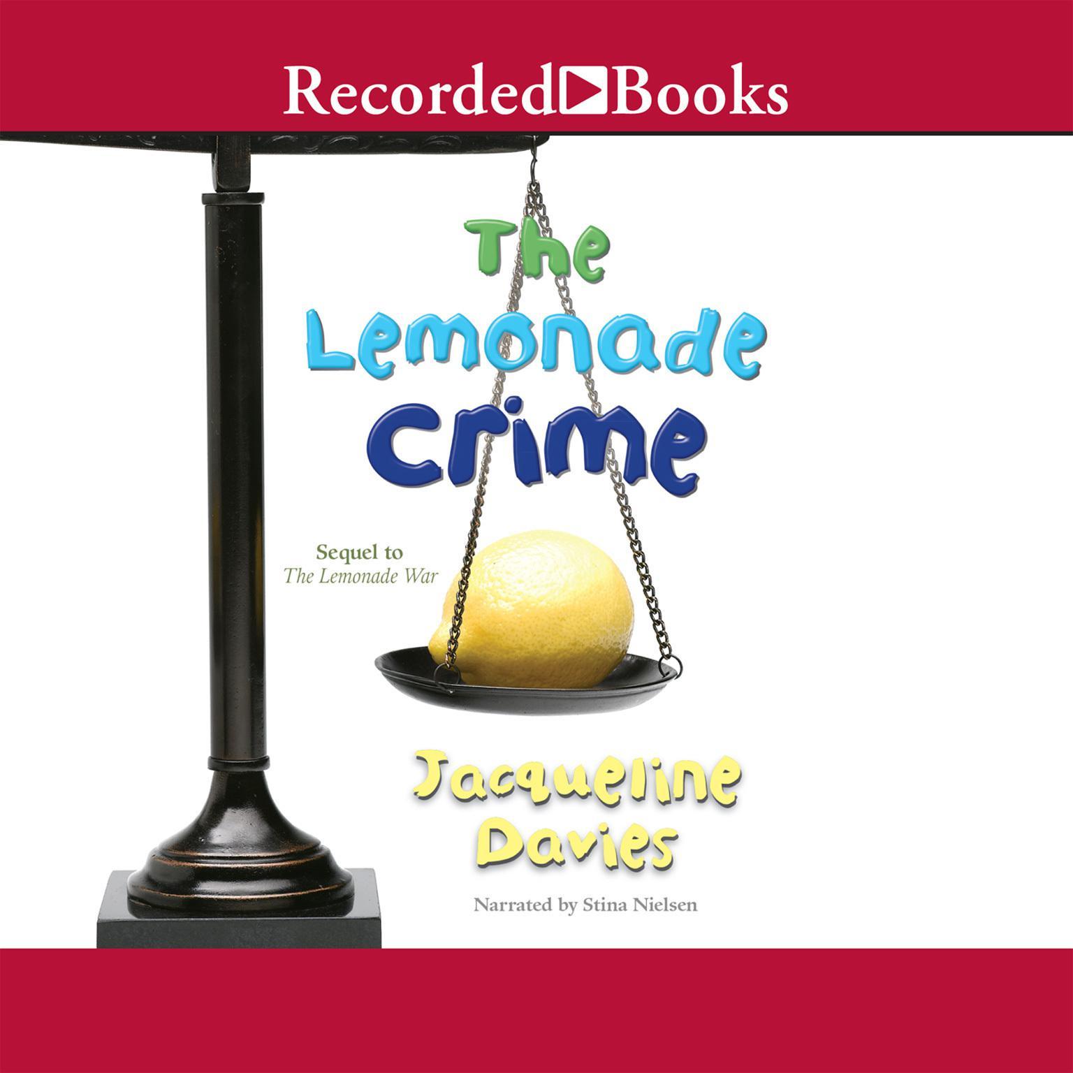Printable The Lemonade Crime Audiobook Cover Art
