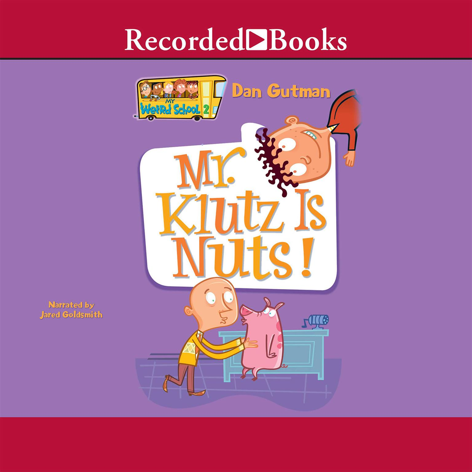 Printable Mr. Klutz Is Nuts! Audiobook Cover Art