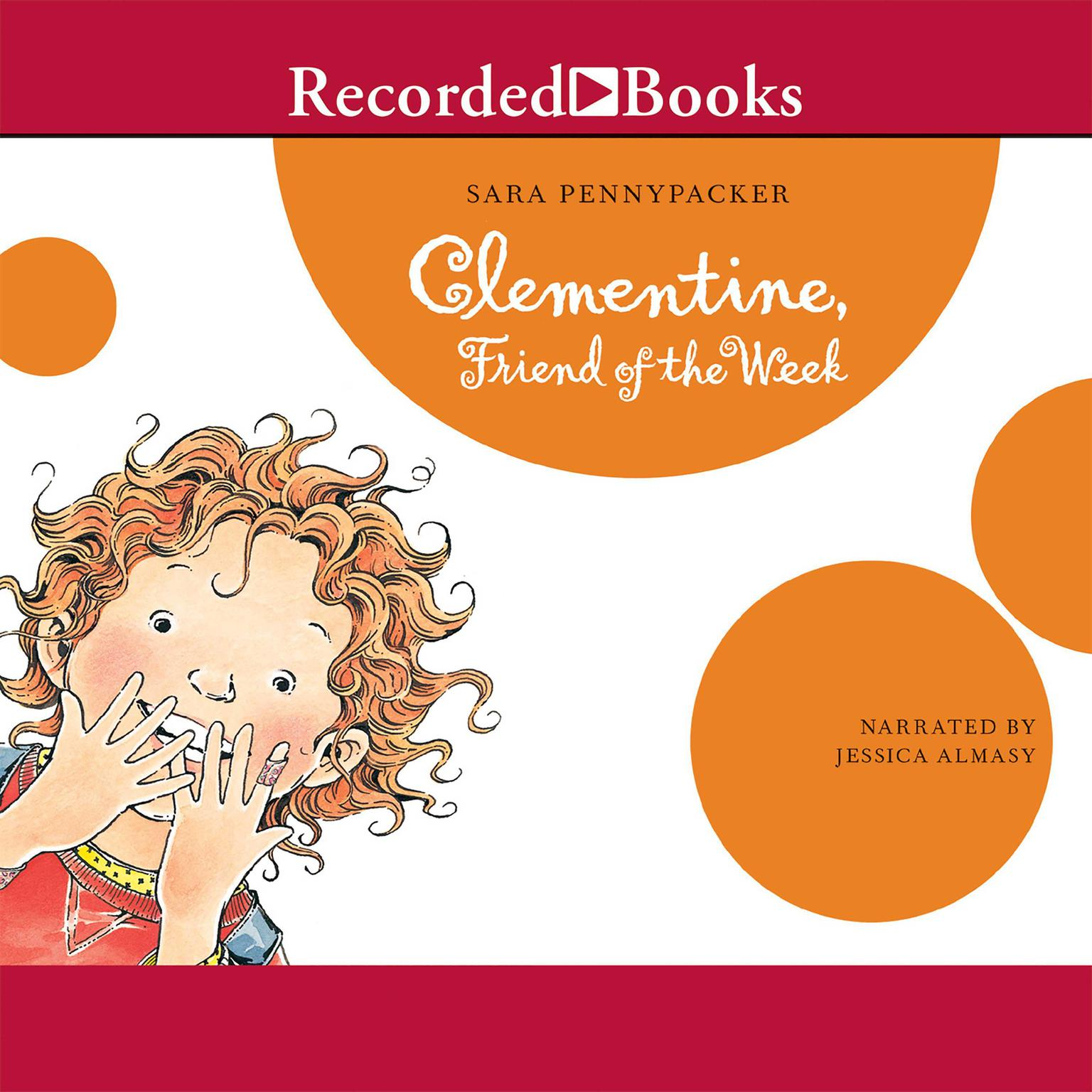 Printable Clementine, Friend of the Week Audiobook Cover Art