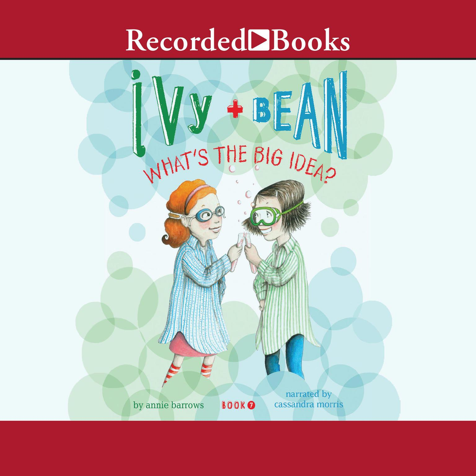 Printable Ivy and Bean: What's the Big Idea? Audiobook Cover Art