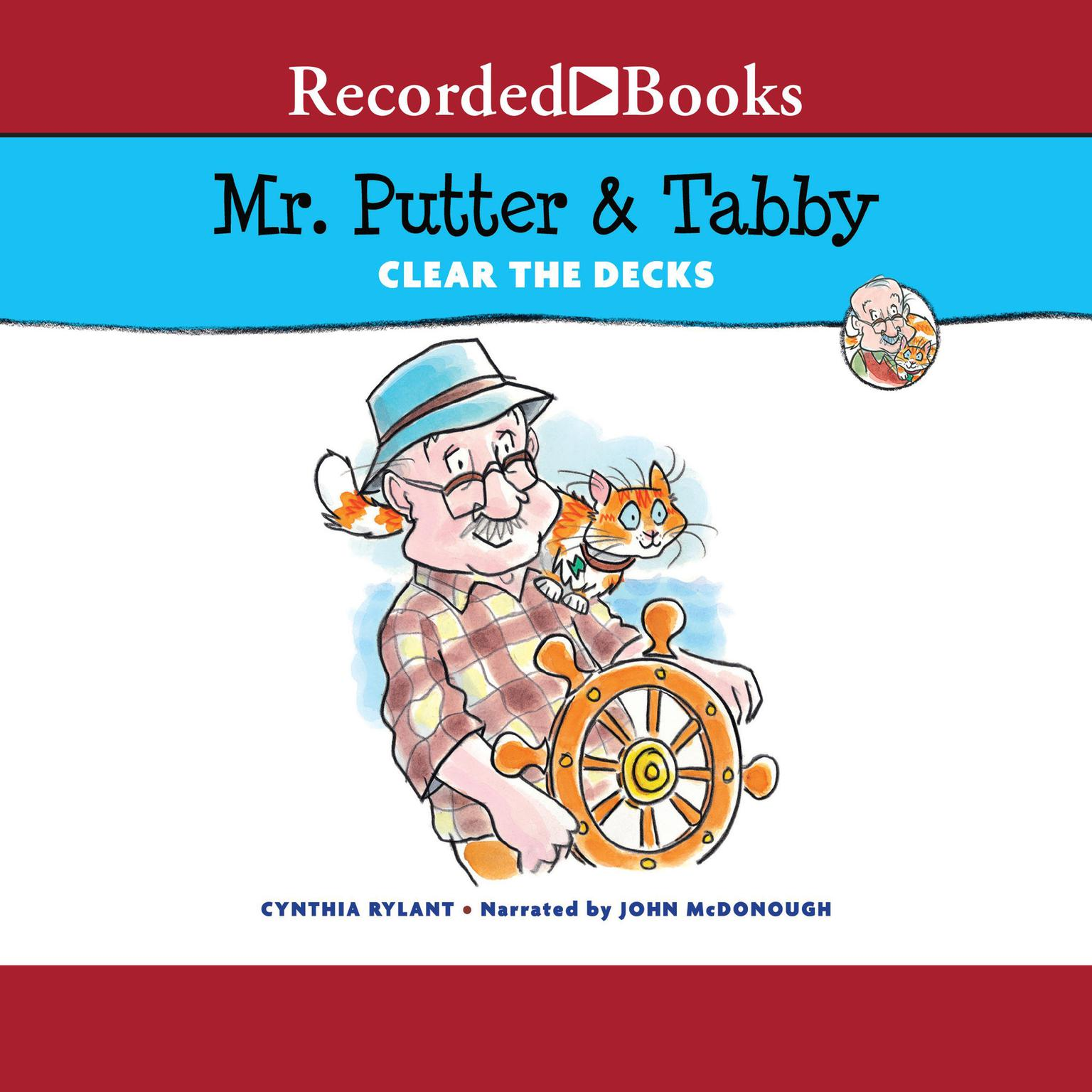 Printable Mr. Putter & Tabby Clear the Decks Audiobook Cover Art