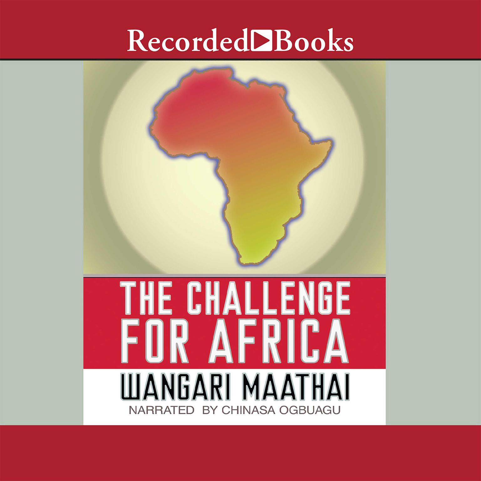 Printable The Challenge For Africa Audiobook Cover Art