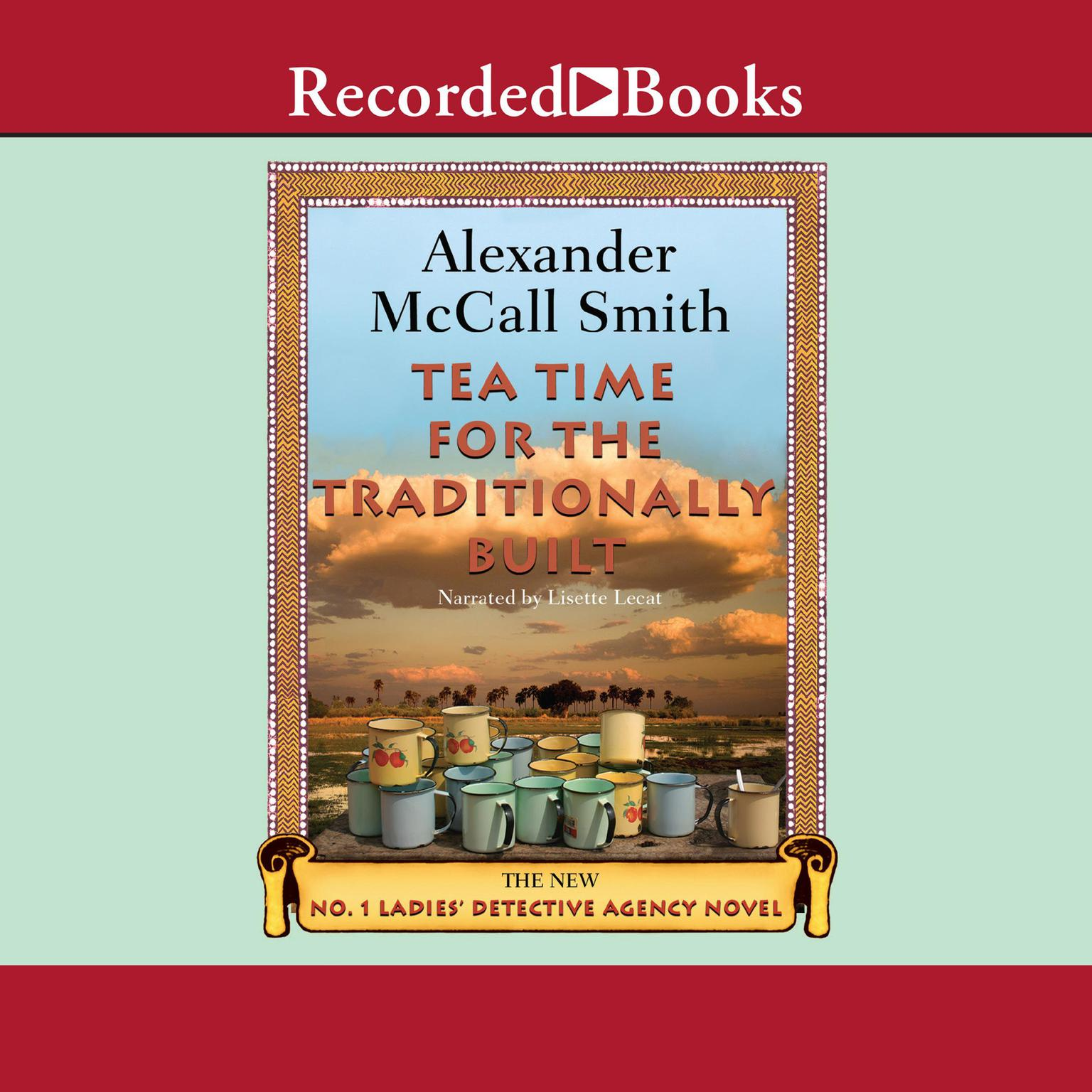 Printable Tea Time for the Traditionally Built Audiobook Cover Art