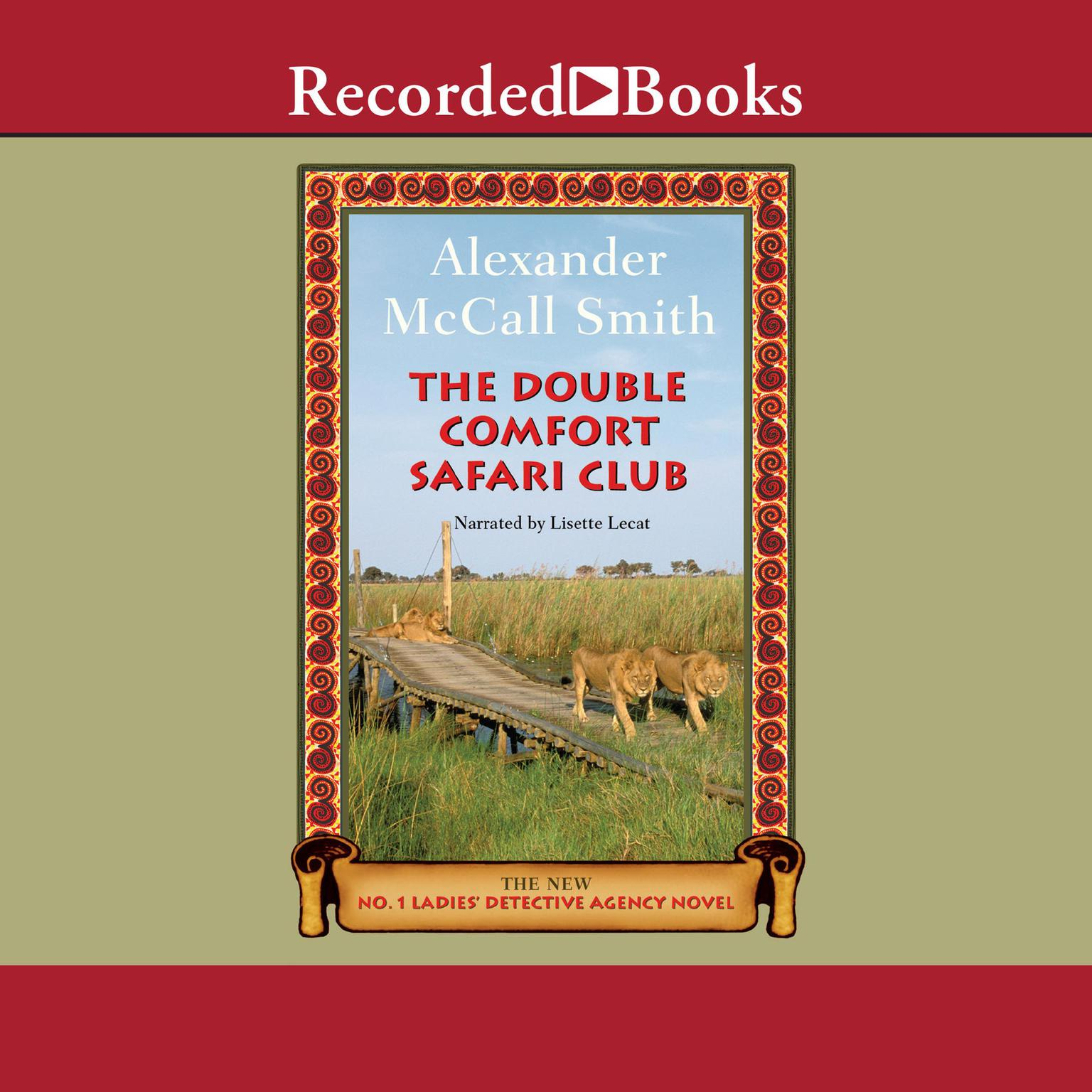 Printable The Double Comfort Safari Club Audiobook Cover Art