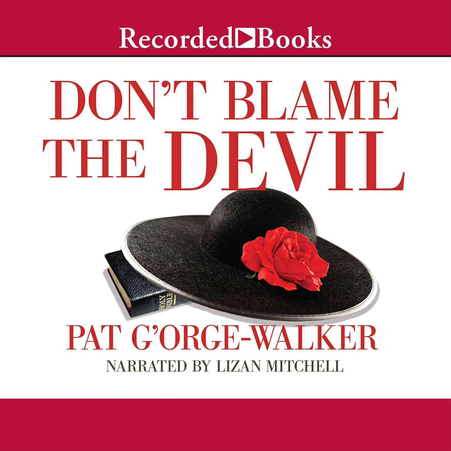 Printable Don't Blame the Devil Audiobook Cover Art
