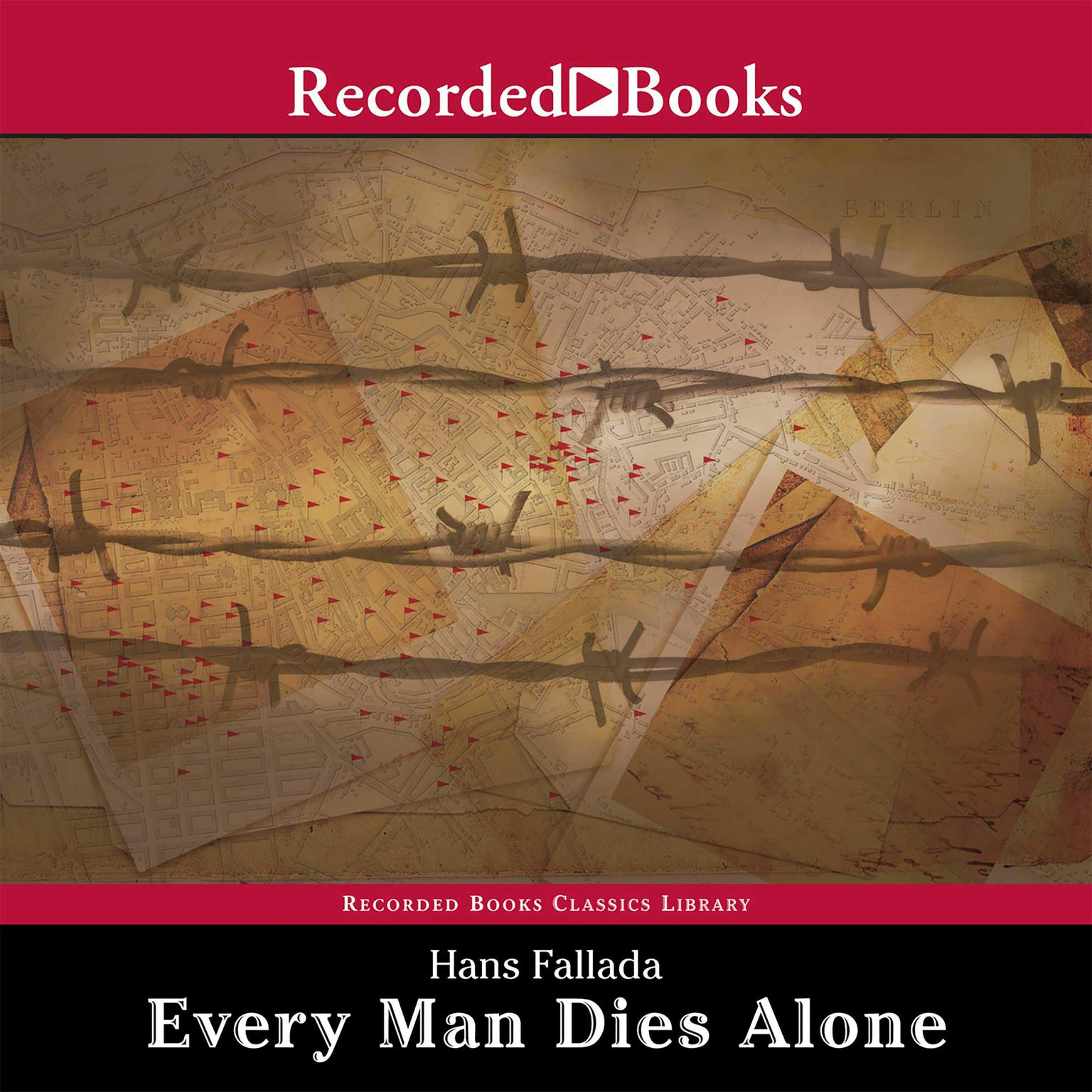 Printable Every Man Dies Alone Audiobook Cover Art