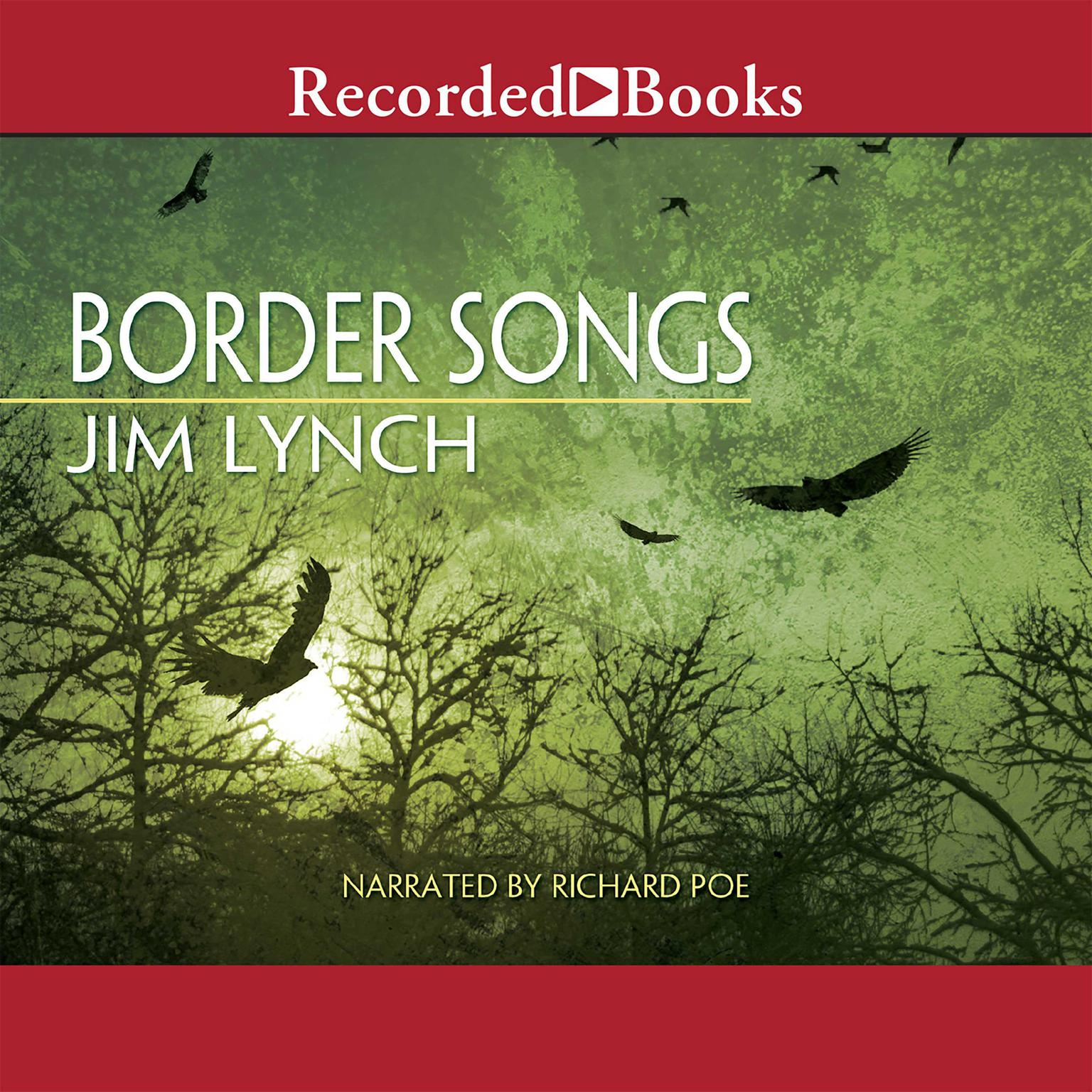 Printable Border Songs Audiobook Cover Art