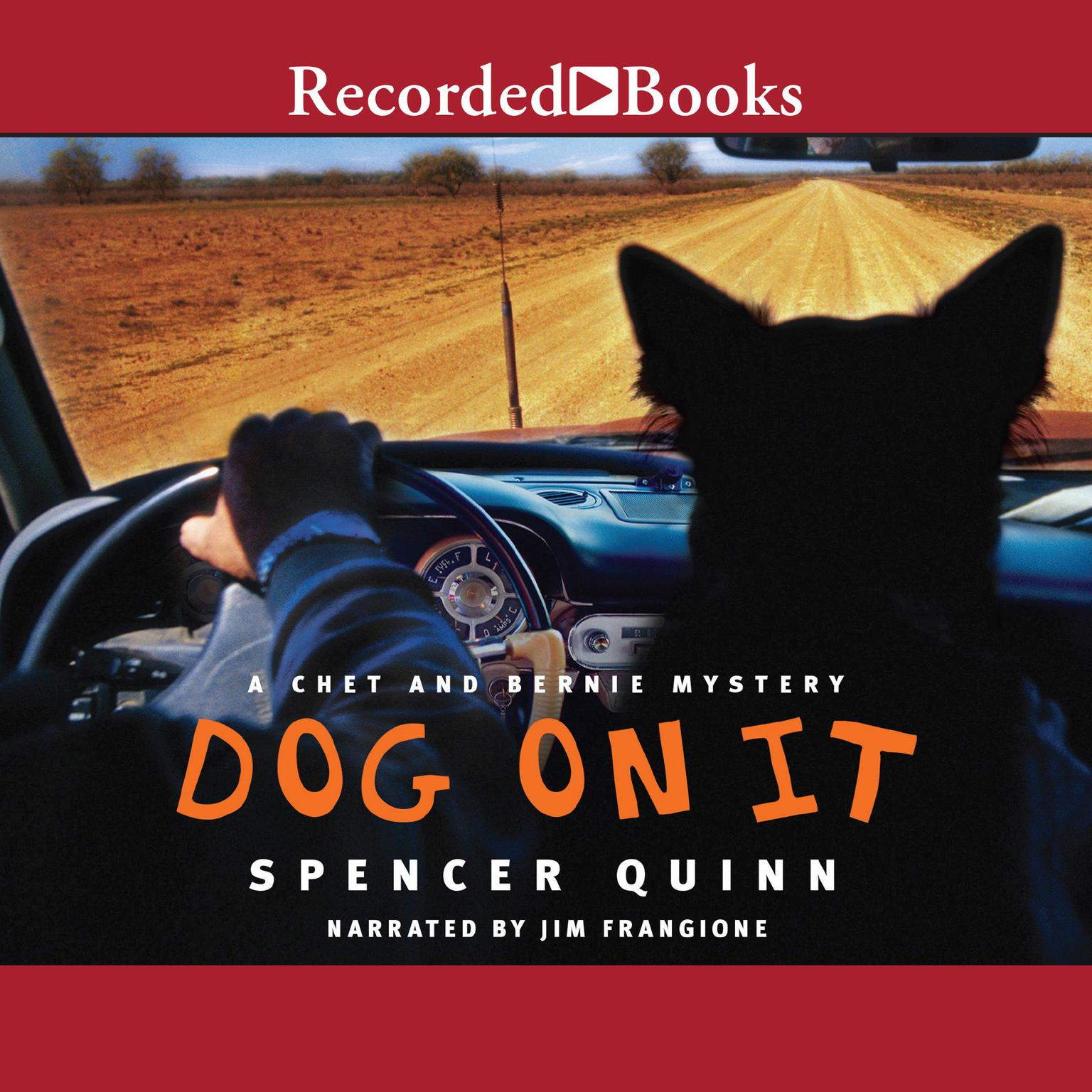Printable Dog on It Audiobook Cover Art