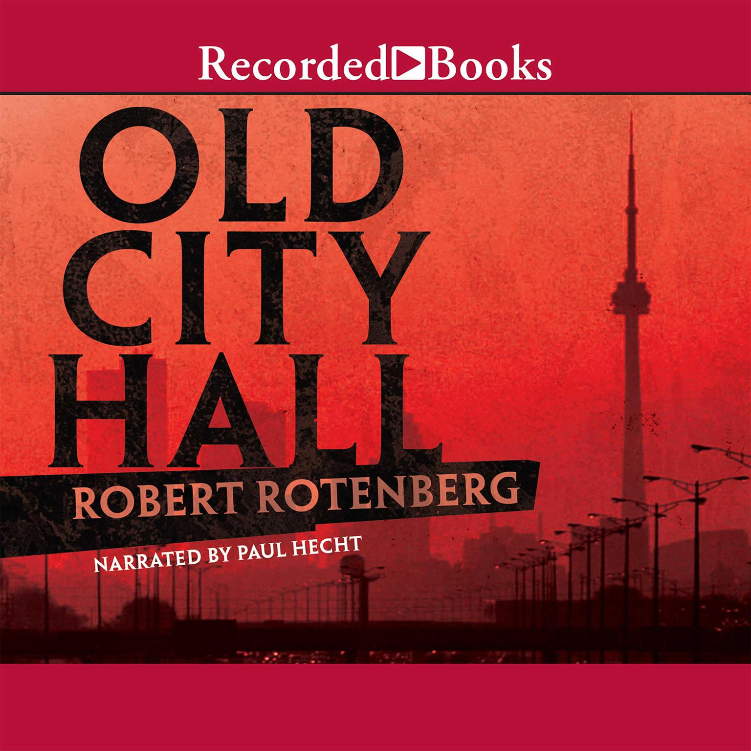 Printable Old City Hall Audiobook Cover Art