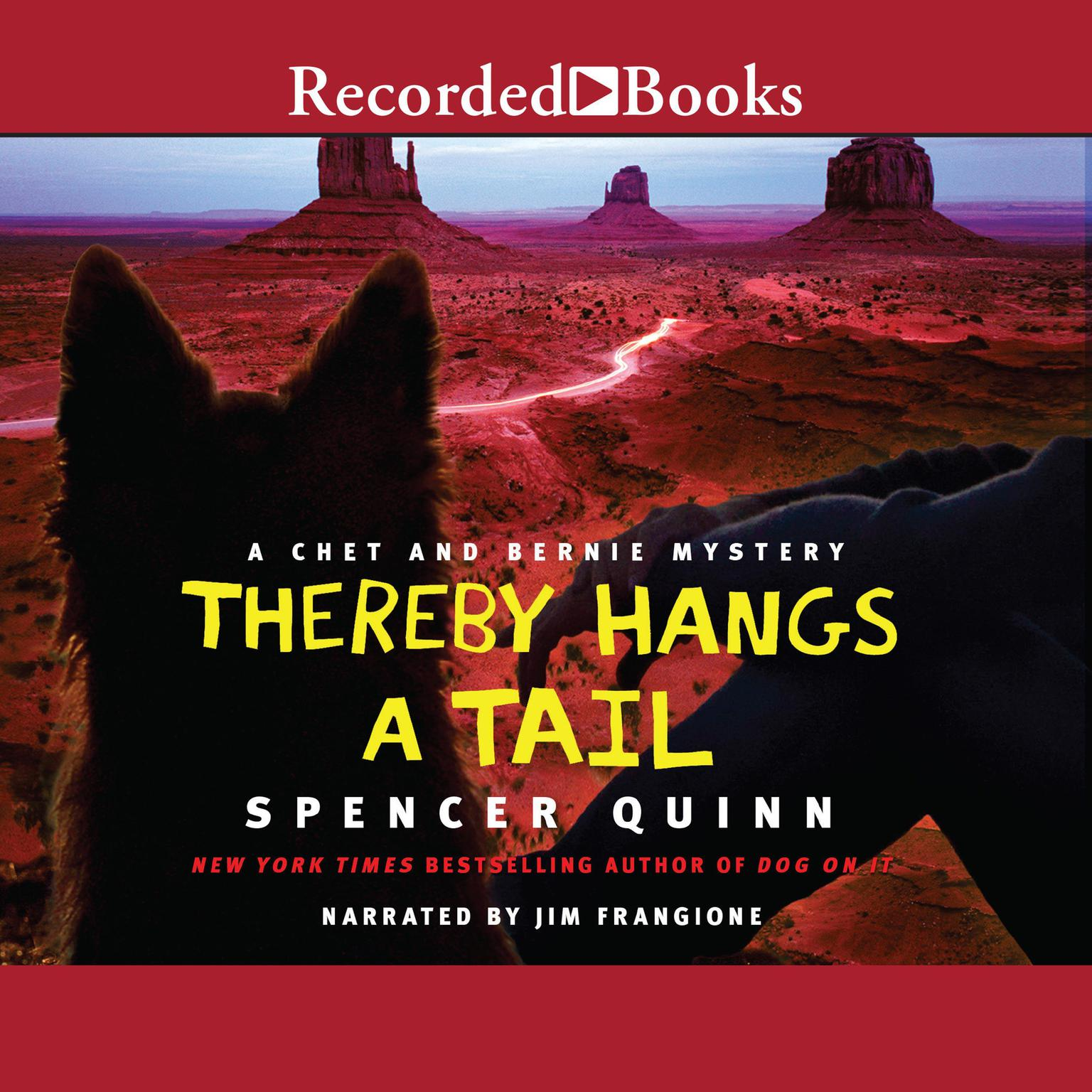 Printable Thereby Hangs a Tail Audiobook Cover Art