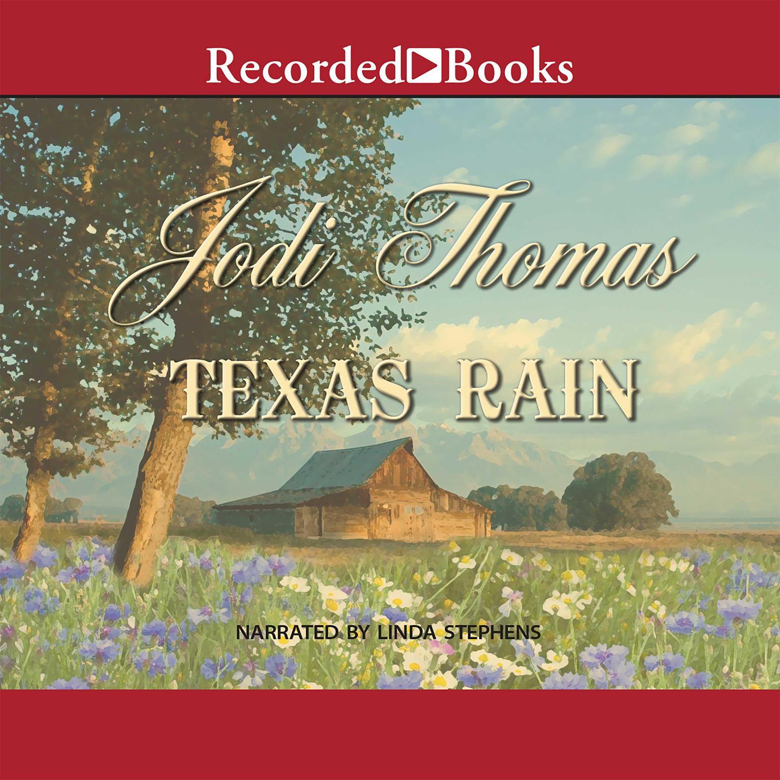 Printable Texas Rain Audiobook Cover Art