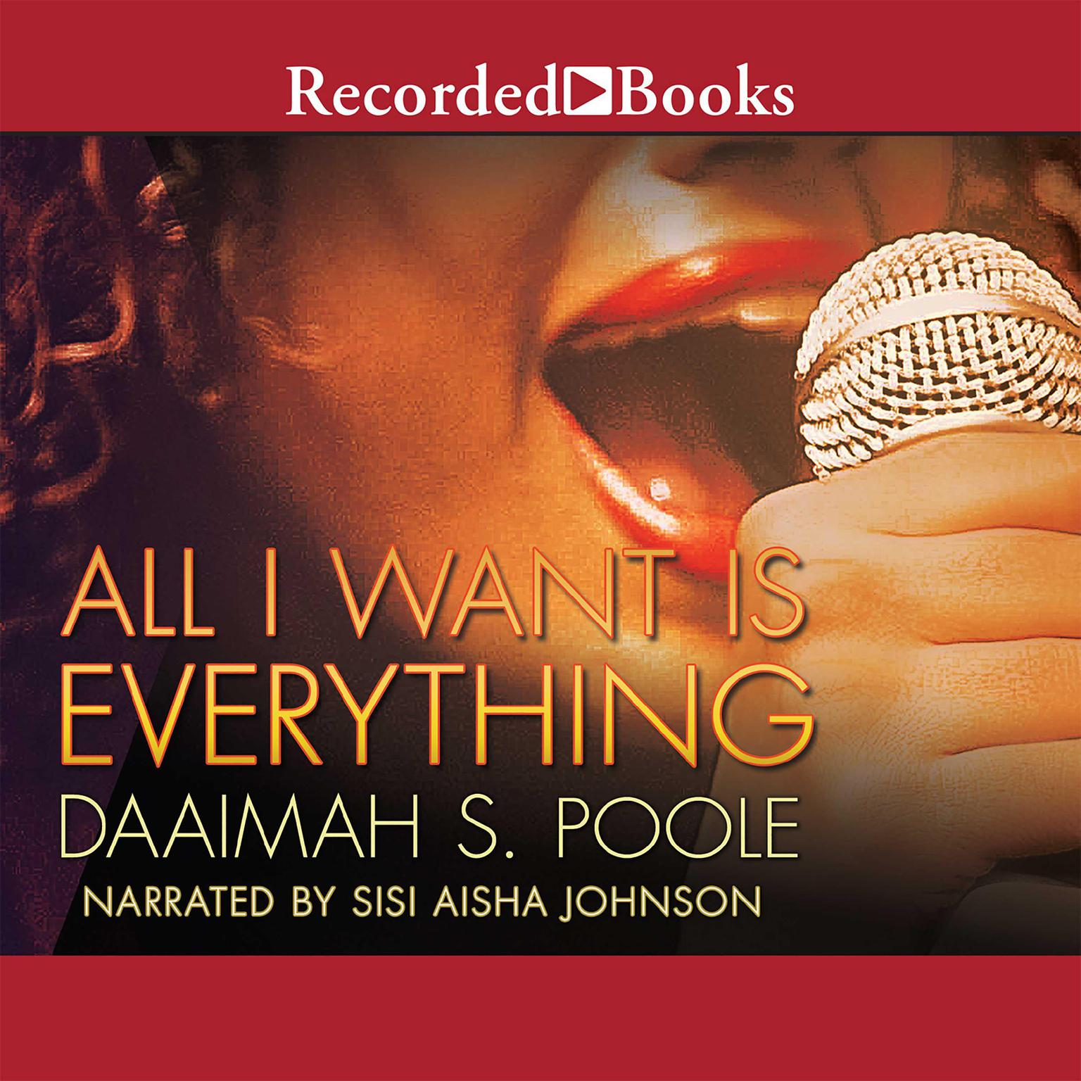 Printable All I Want Is Everything Audiobook Cover Art