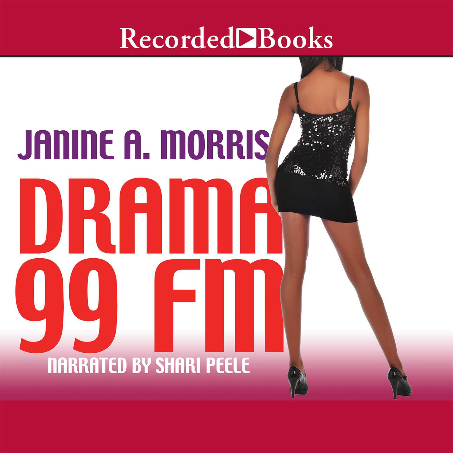 Printable Drama 99 FM Audiobook Cover Art