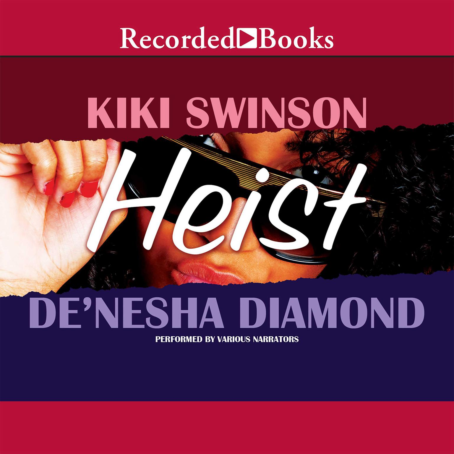 Printable Heist Audiobook Cover Art
