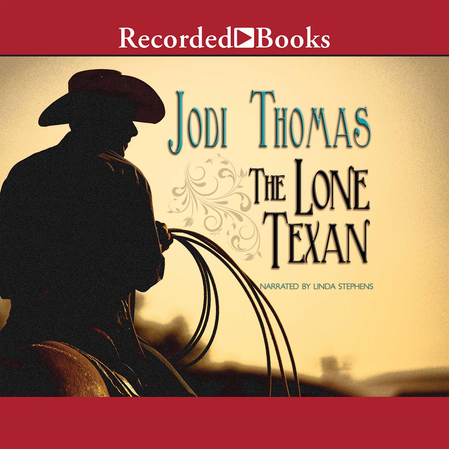 Printable The Lone Texan Audiobook Cover Art