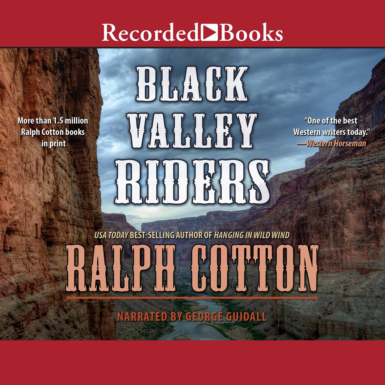 Printable Black Valley Riders Audiobook Cover Art