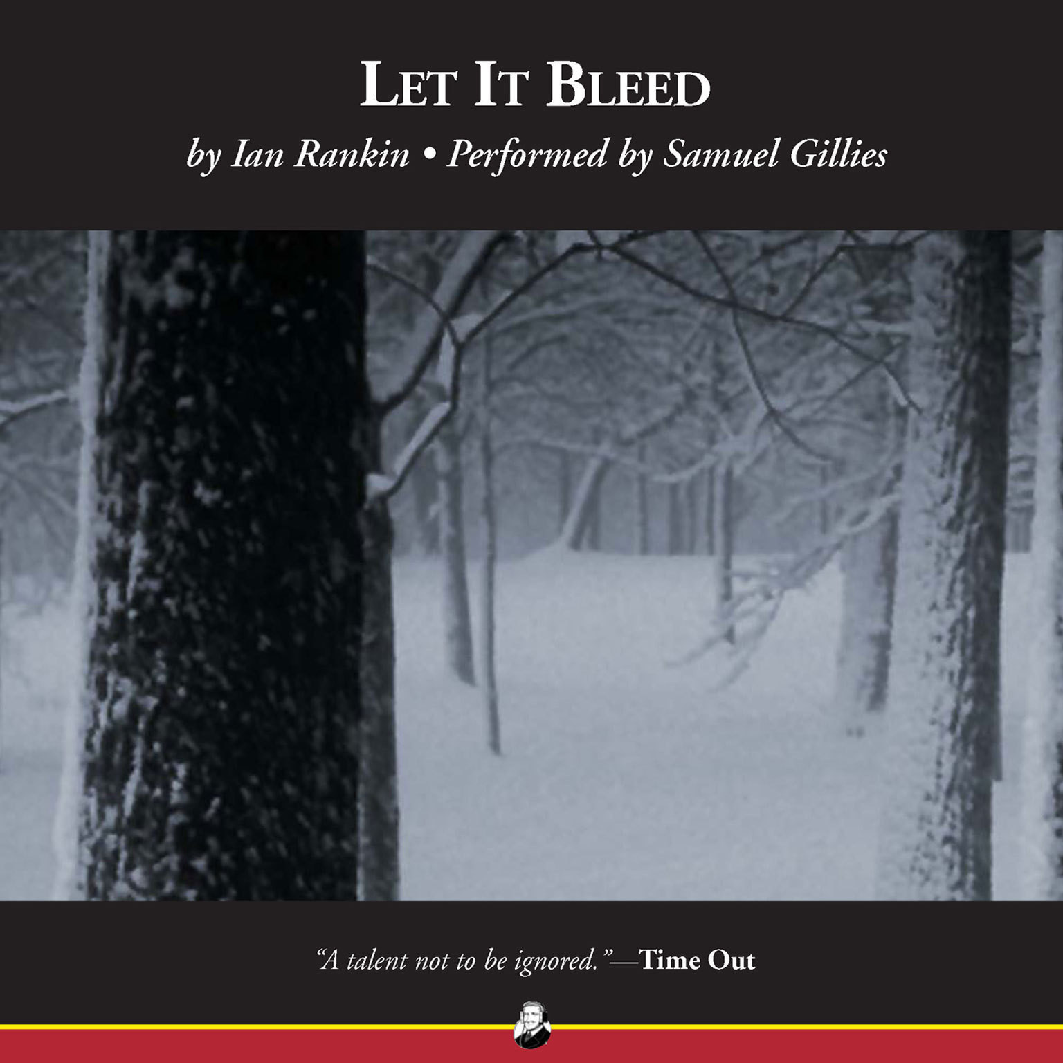 Printable Let It Bleed Audiobook Cover Art