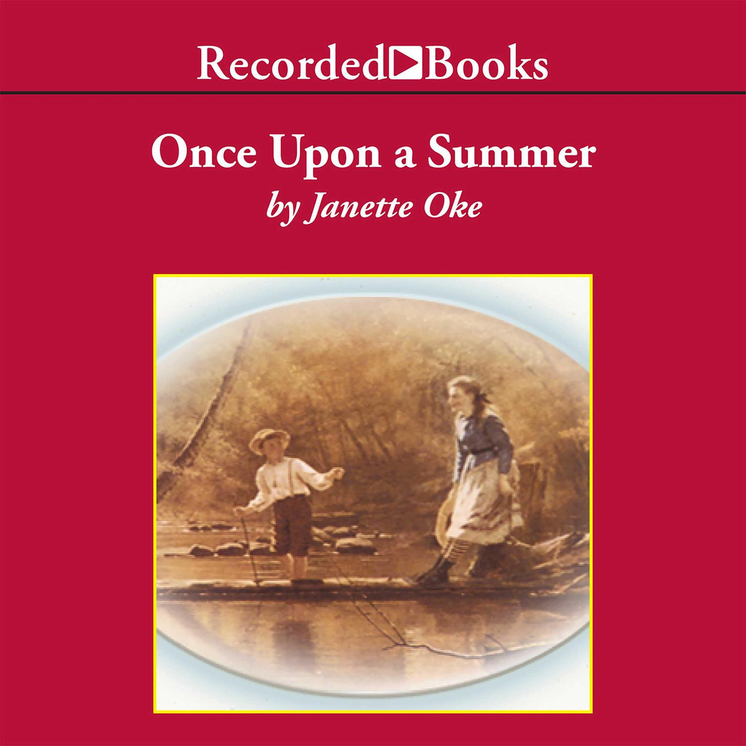 Printable Once upon a Summer Audiobook Cover Art