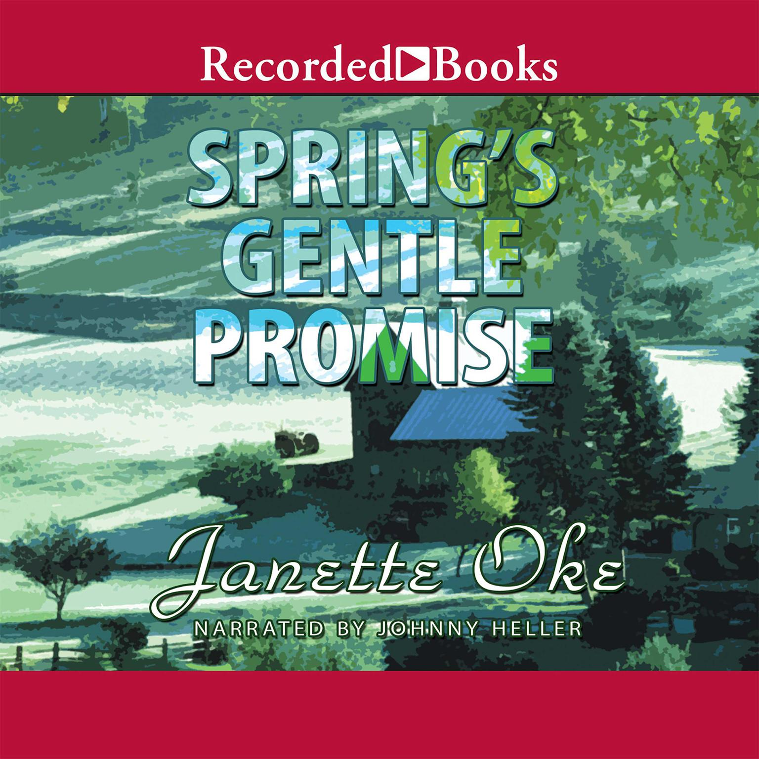 Printable Spring's Gentle Promise Audiobook Cover Art