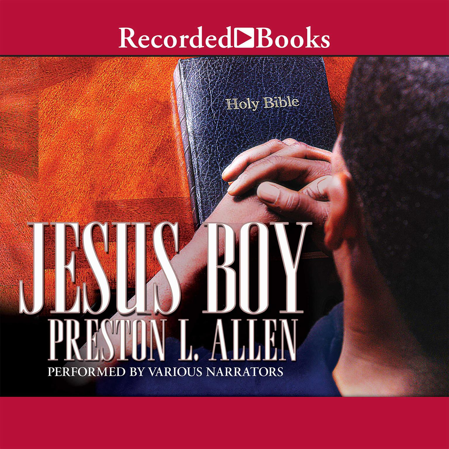 Printable Jesus Boy Audiobook Cover Art