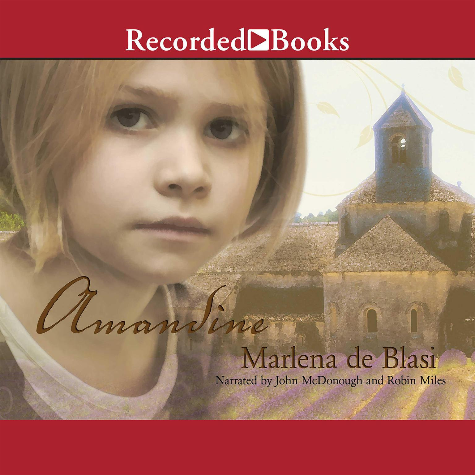 Printable Amandine Audiobook Cover Art
