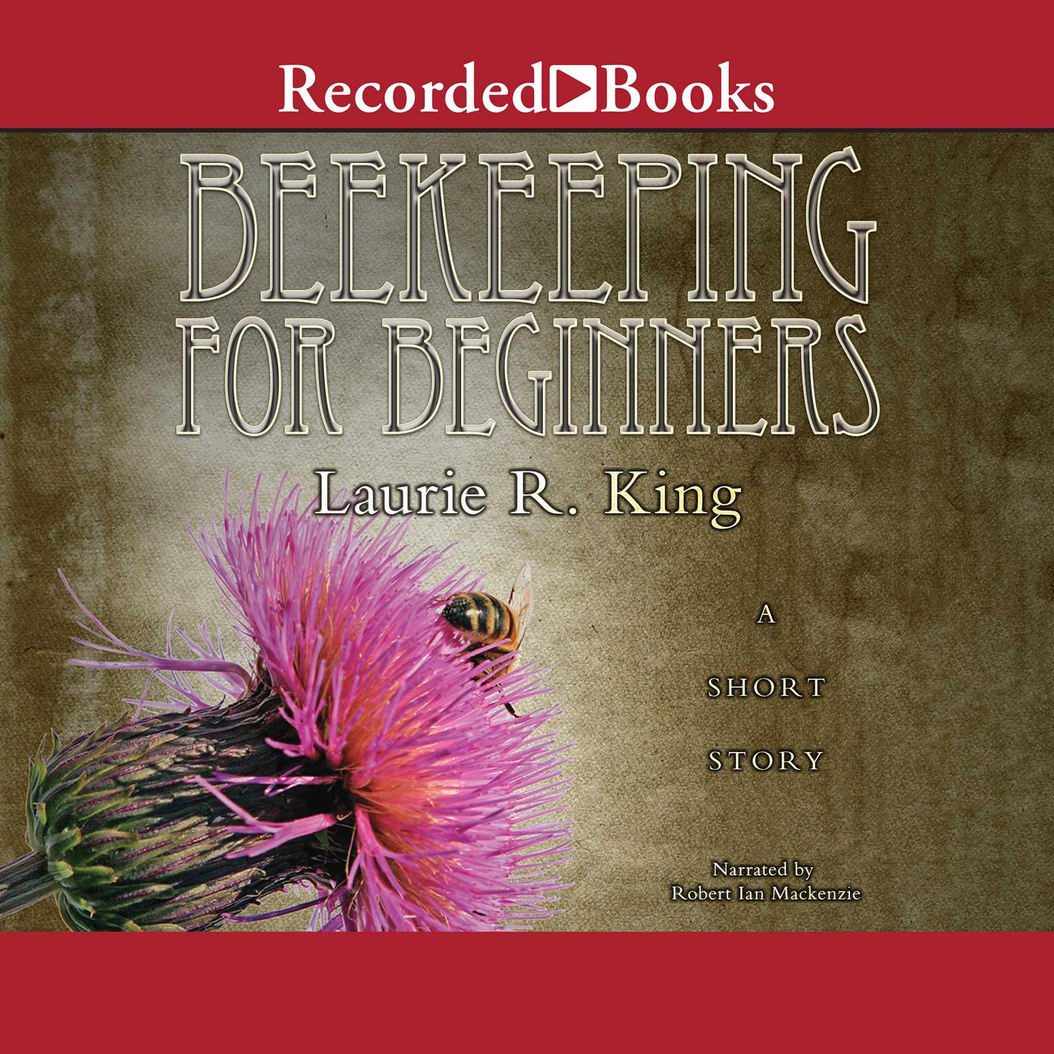 Printable Beekeeping for Beginners Audiobook Cover Art
