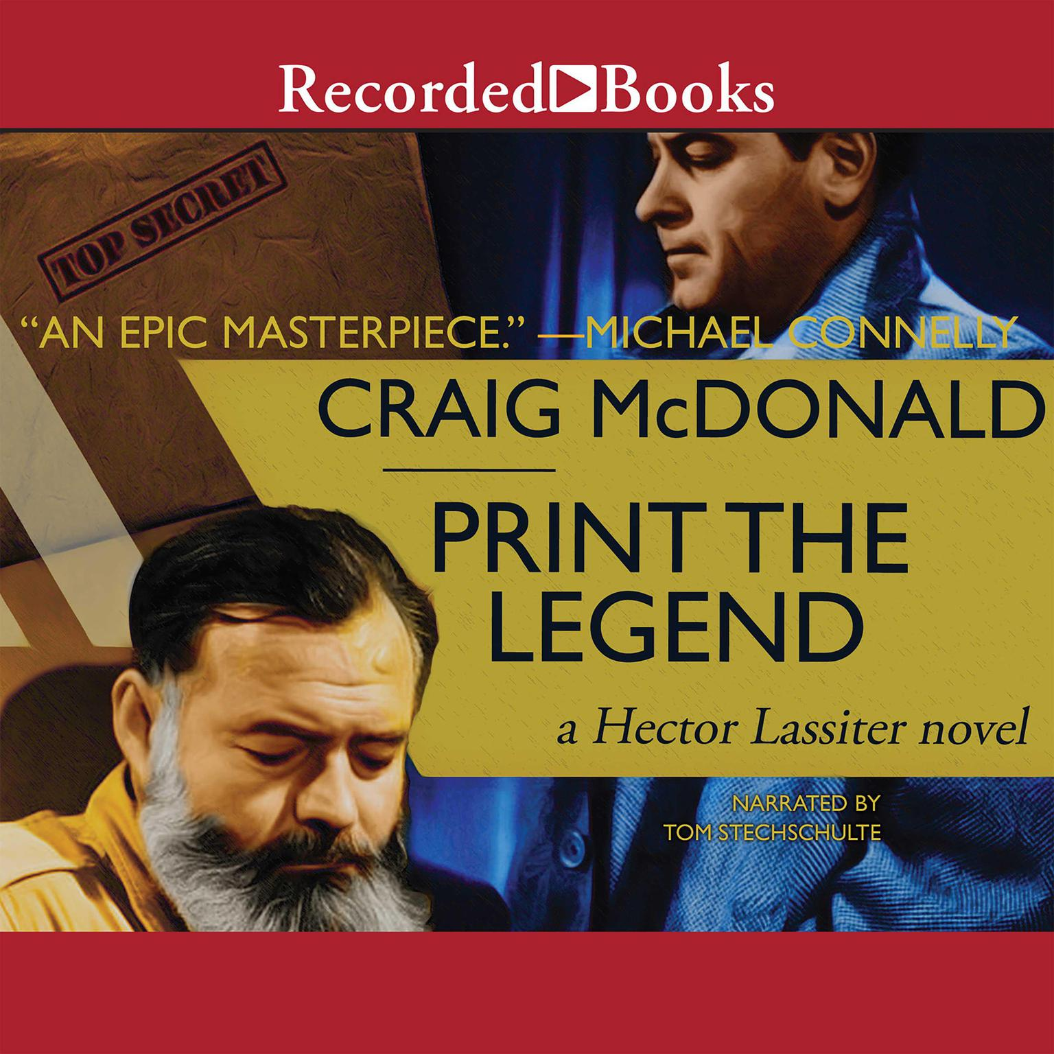 Printable Print the Legend Audiobook Cover Art