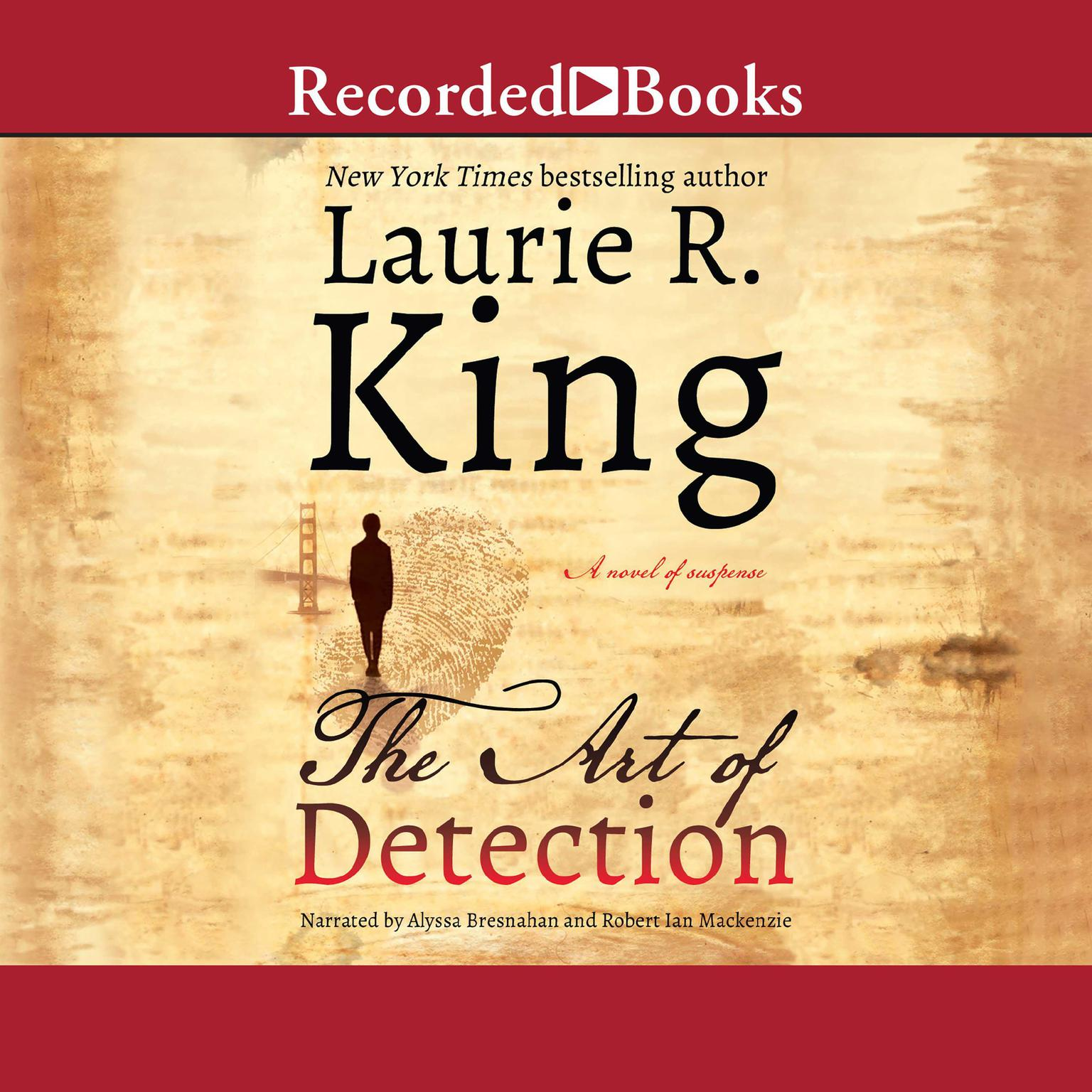 Printable The Art of Detection Audiobook Cover Art