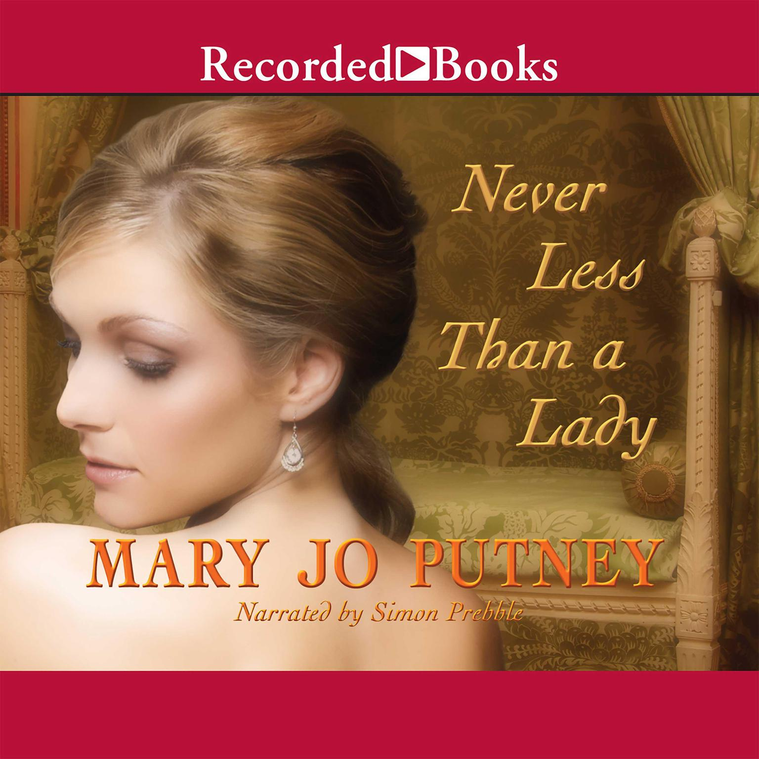 Printable Never Less Than a Lady Audiobook Cover Art