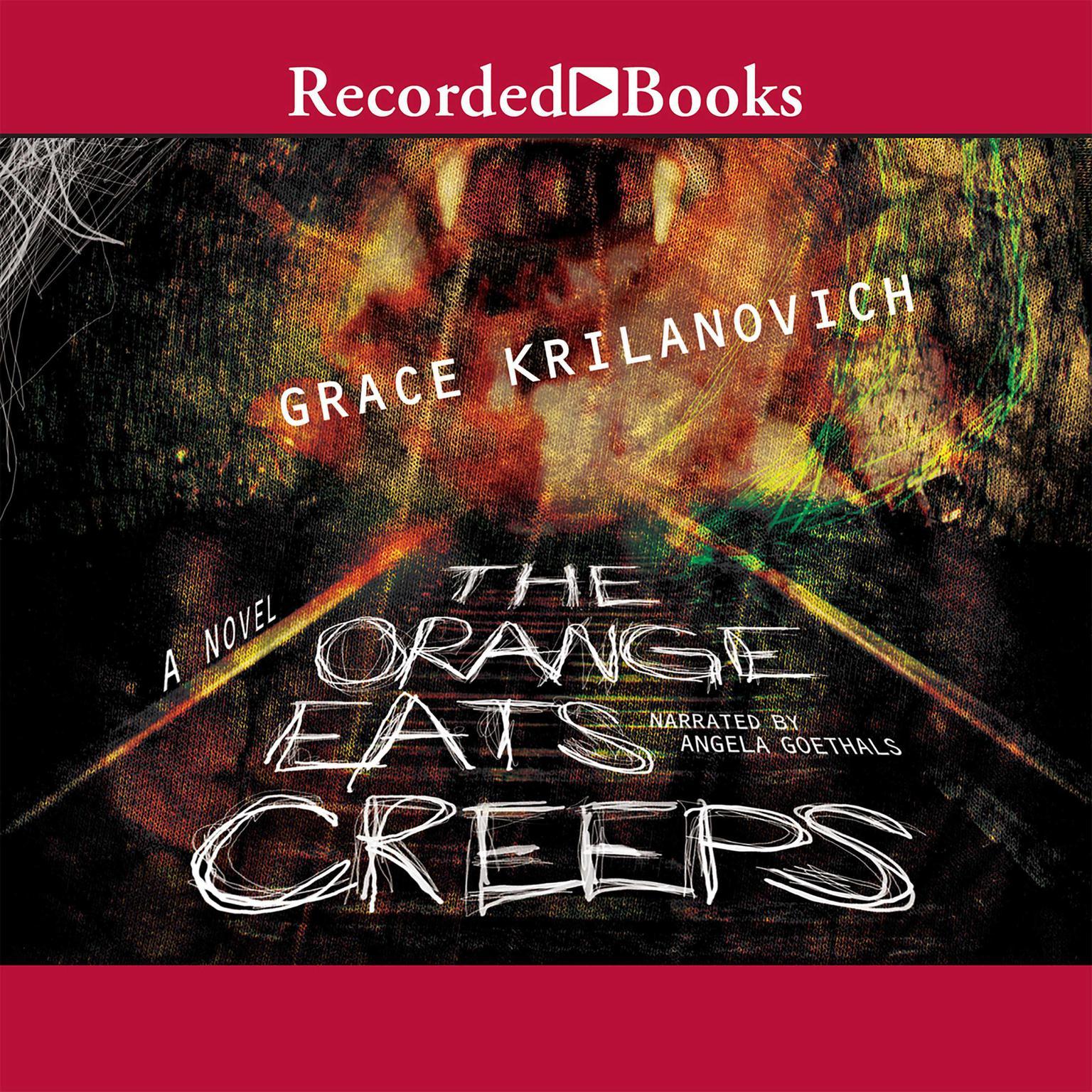 Printable The Orange Eats Creeps Audiobook Cover Art