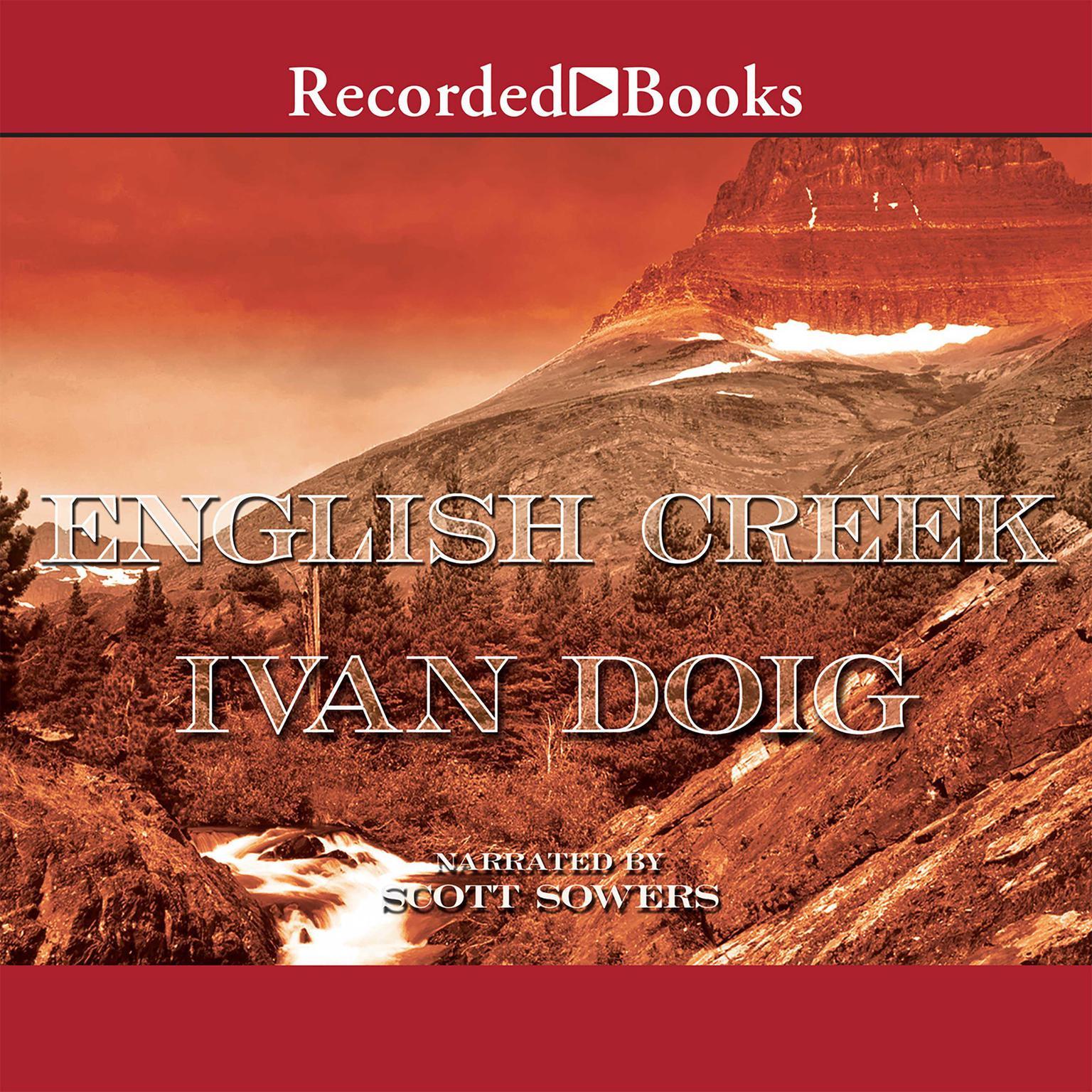 Printable English Creek Audiobook Cover Art